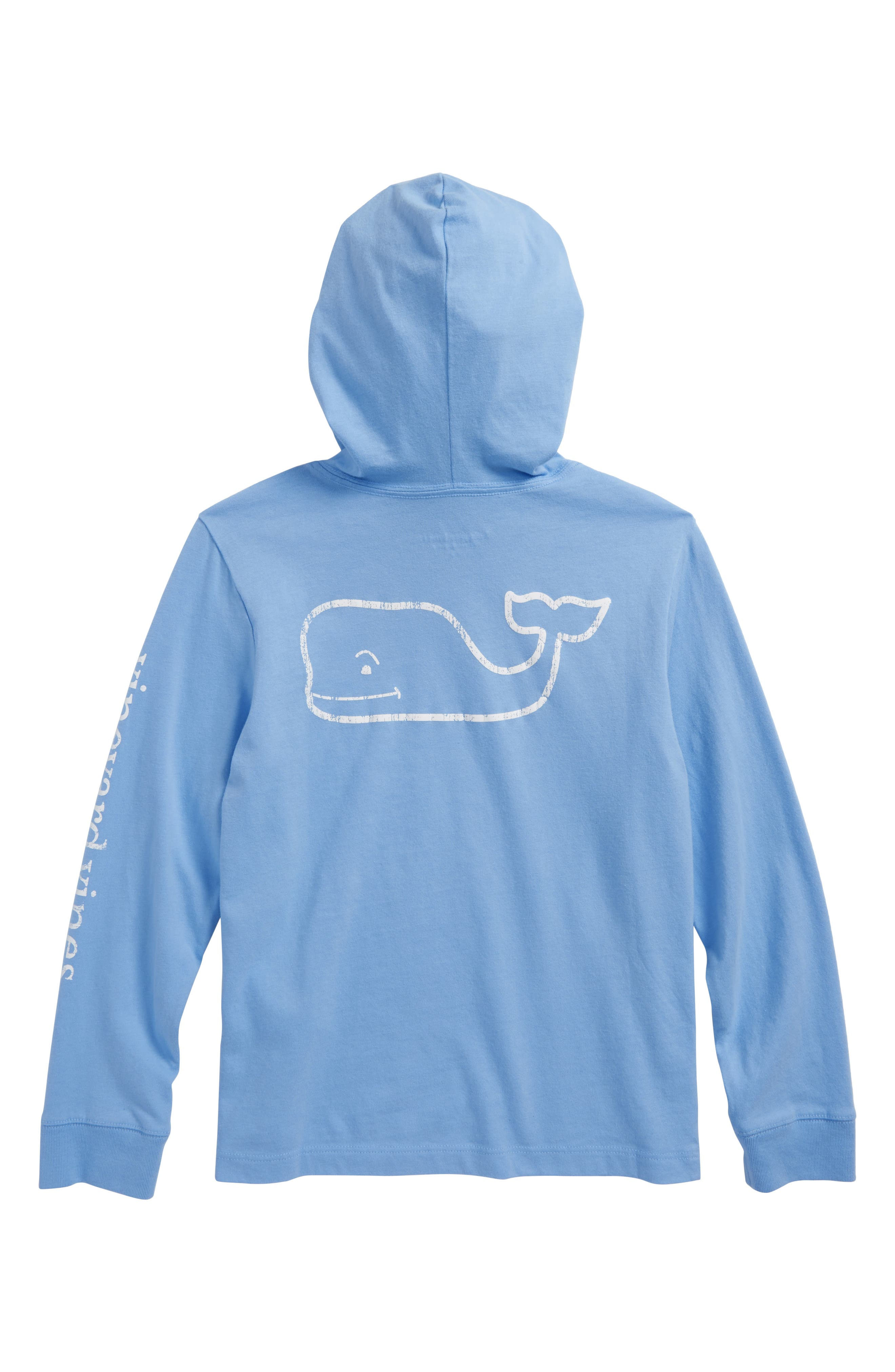 Performance Hooded Pullover,                             Alternate thumbnail 2, color,                             Ocean Breeze