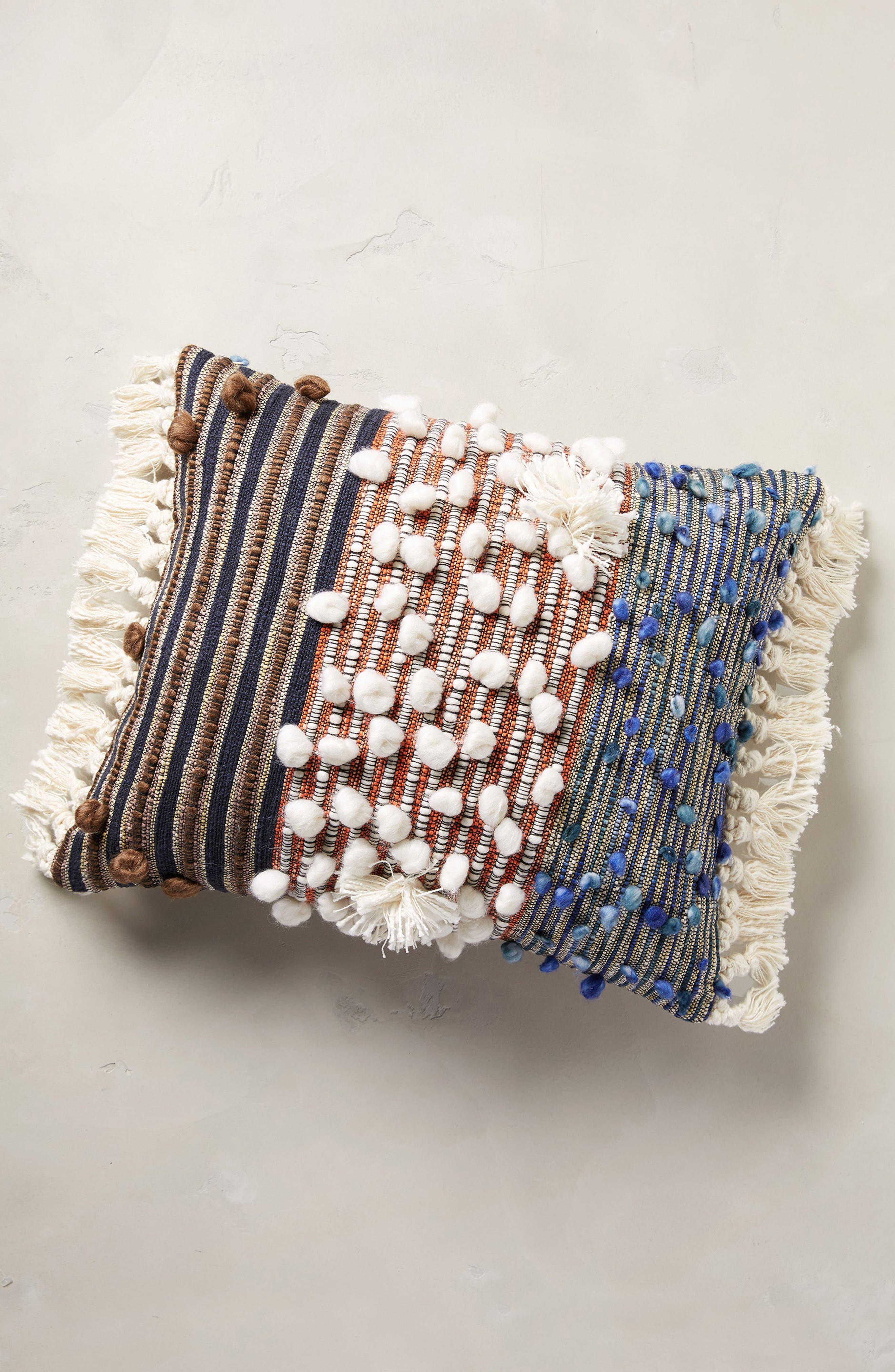 x All Roads Design Collage Majida Accent Pillow,                         Main,                         color, Natural Multi