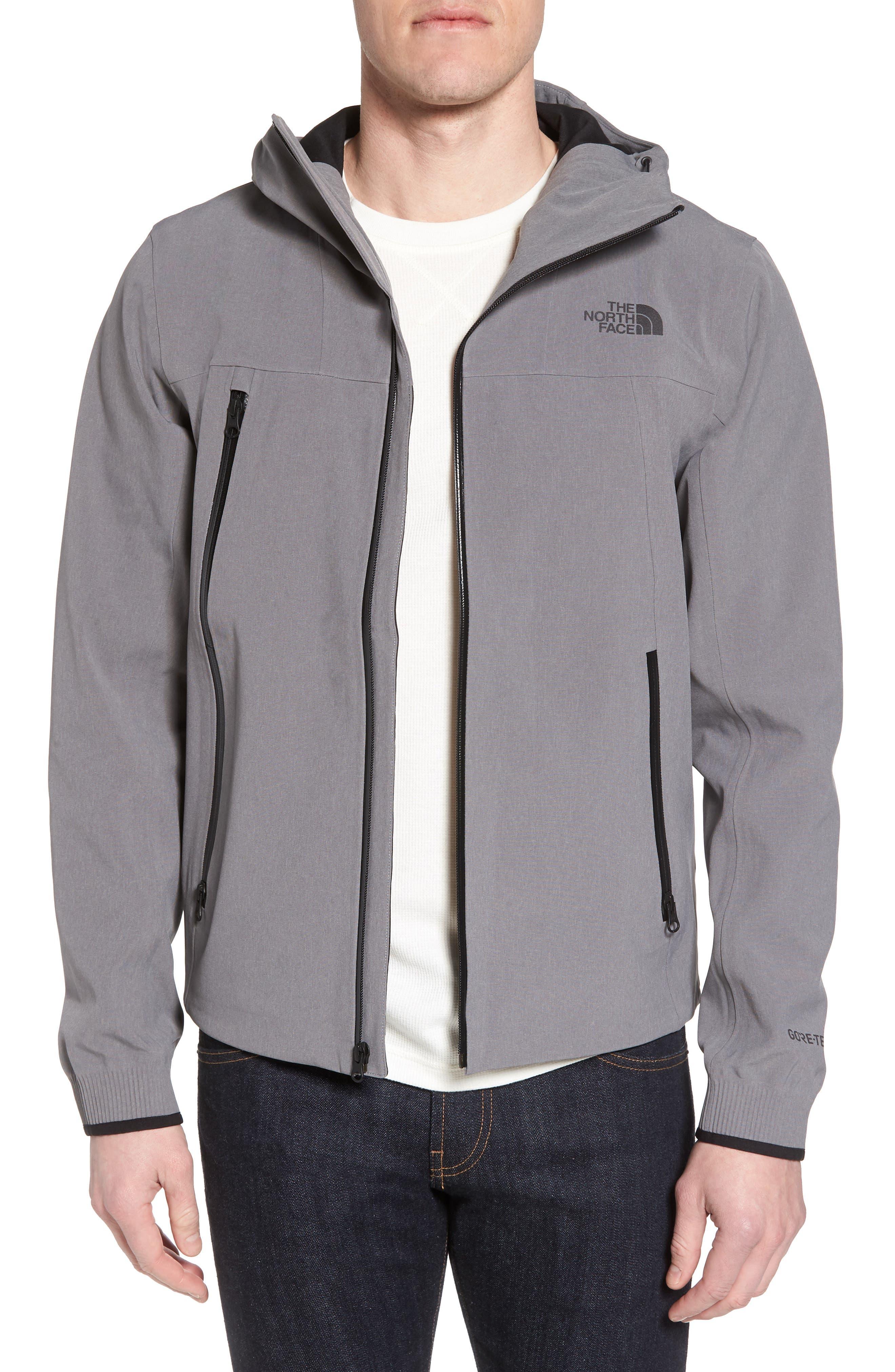 Apex Flex Gore-Tex<sup>®</sup> Waterproof Jacket,                         Main,                         color, Medium Grey Heather