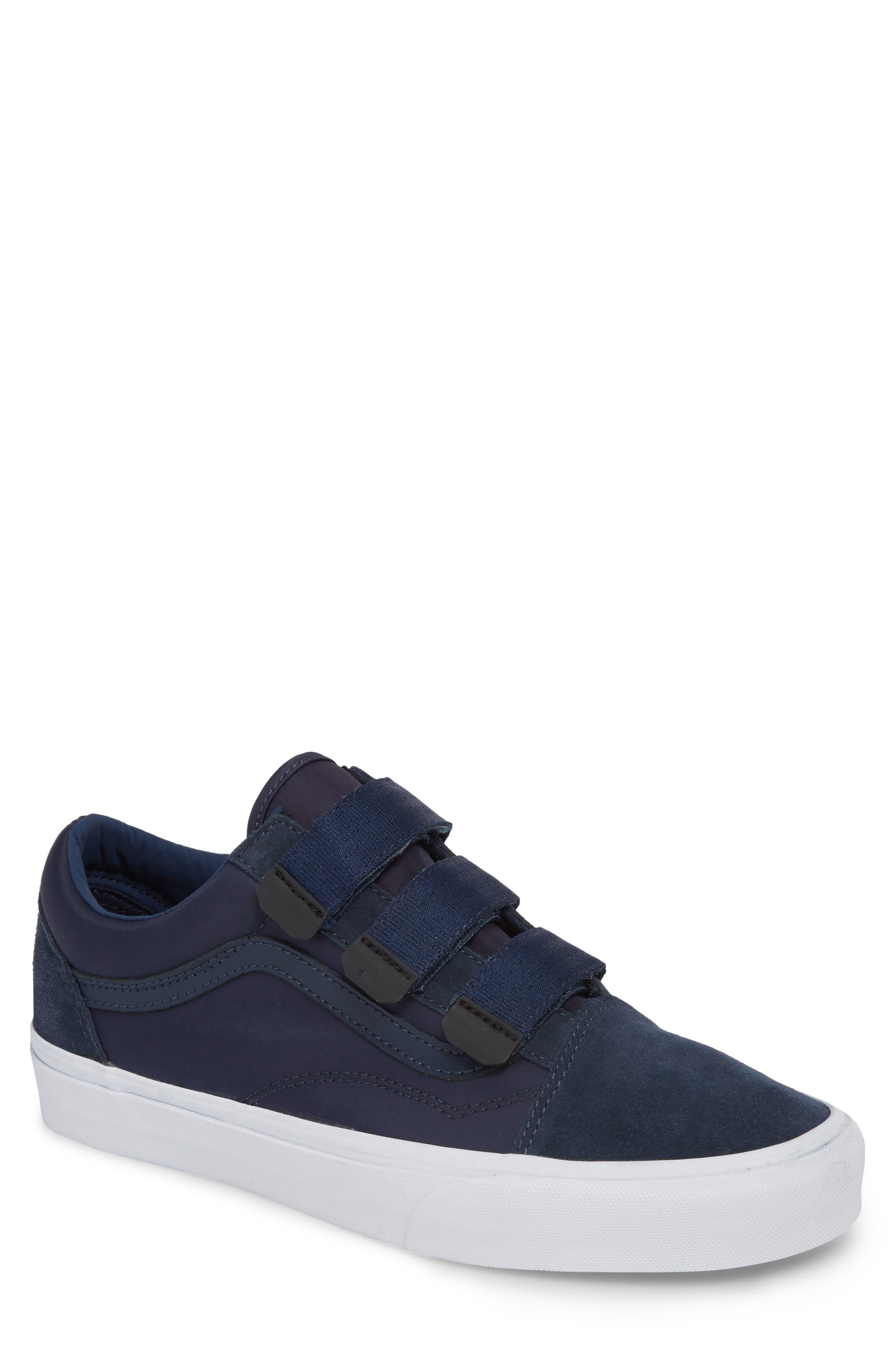 Old School V-Sneaker,                             Main thumbnail 1, color,                             Dress Blues