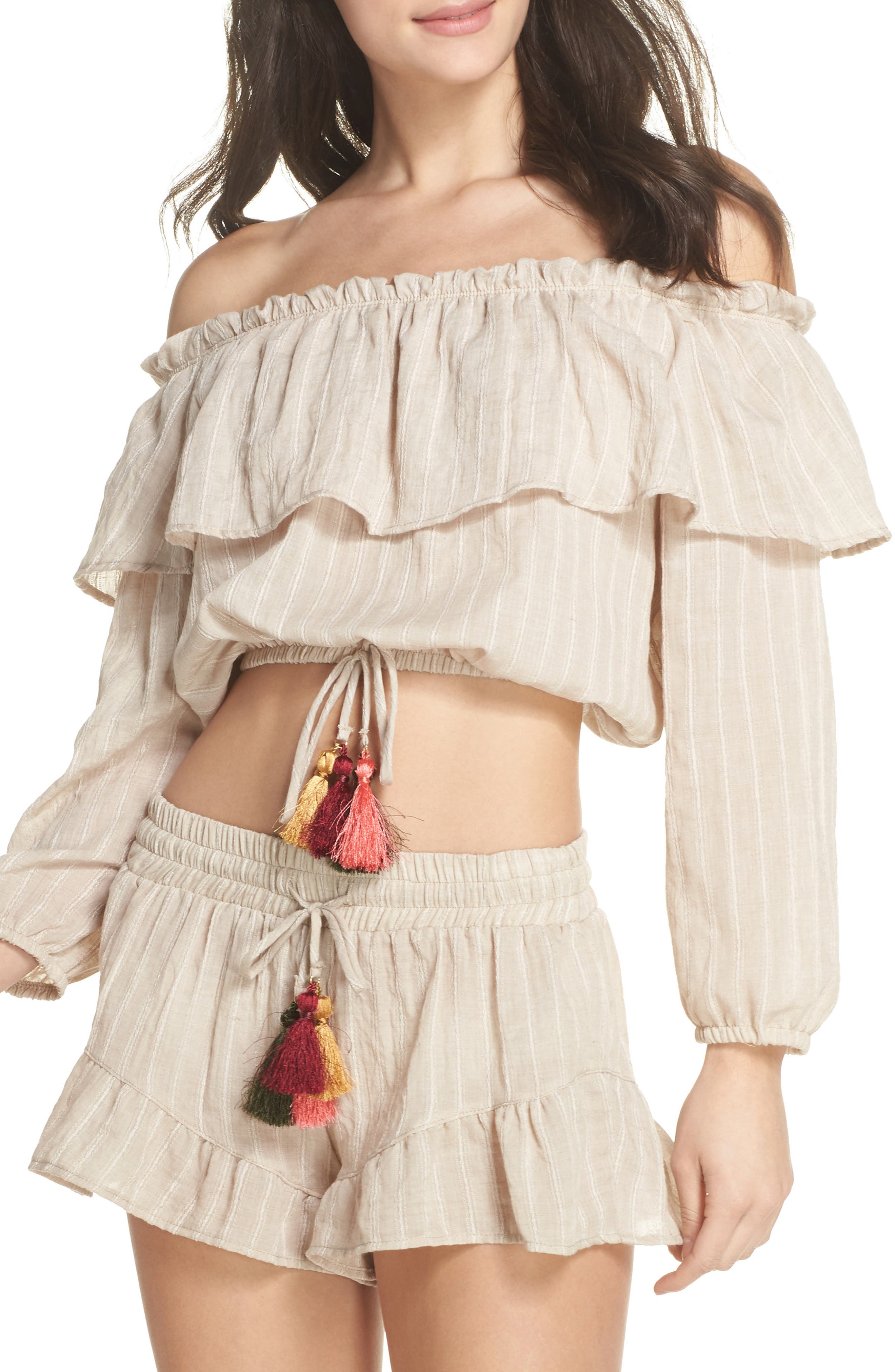Surf Gypsy Ruffle Cover-Up Top