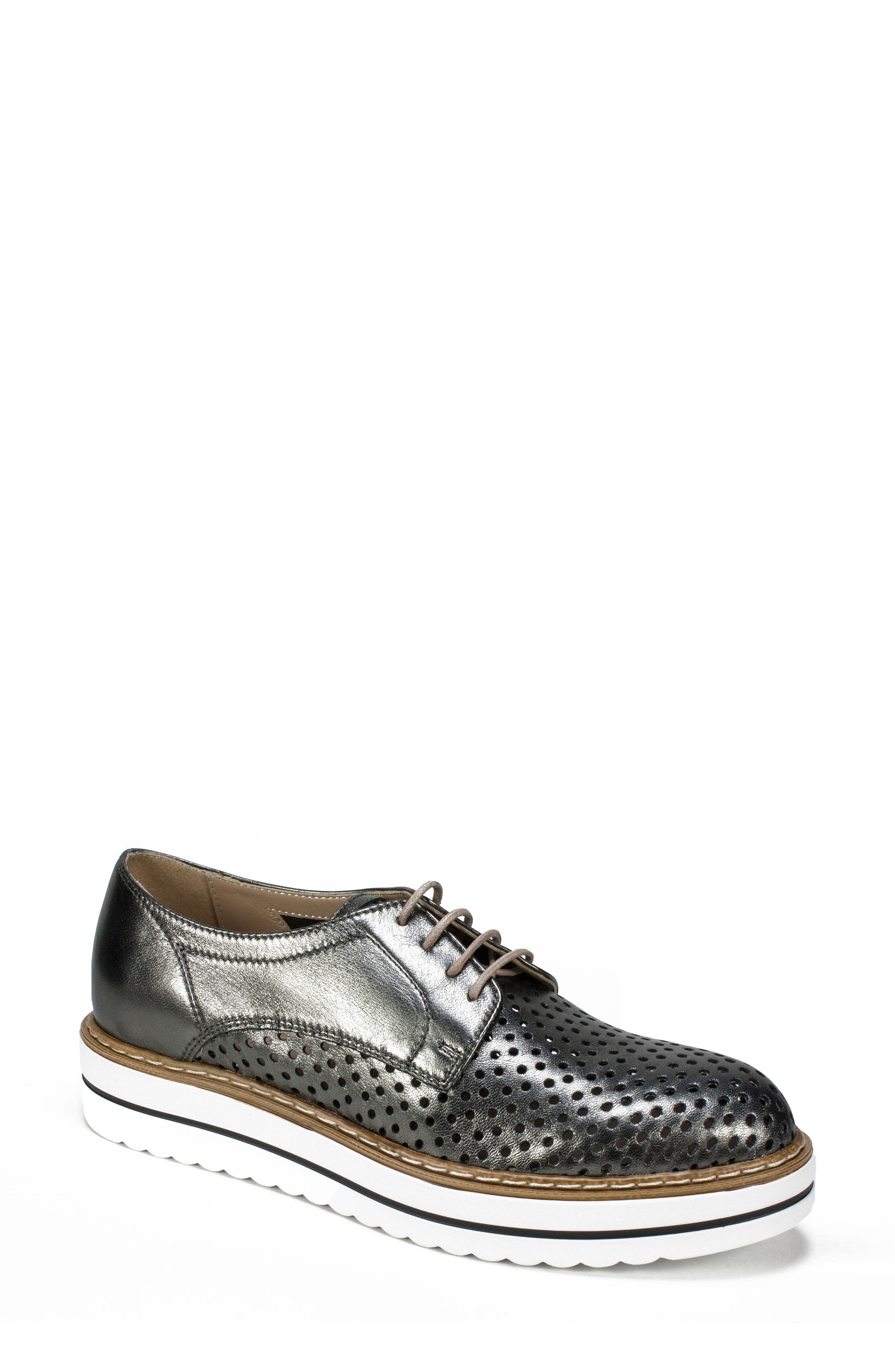 Bria Derby,                         Main,                         color, Pewter Leather