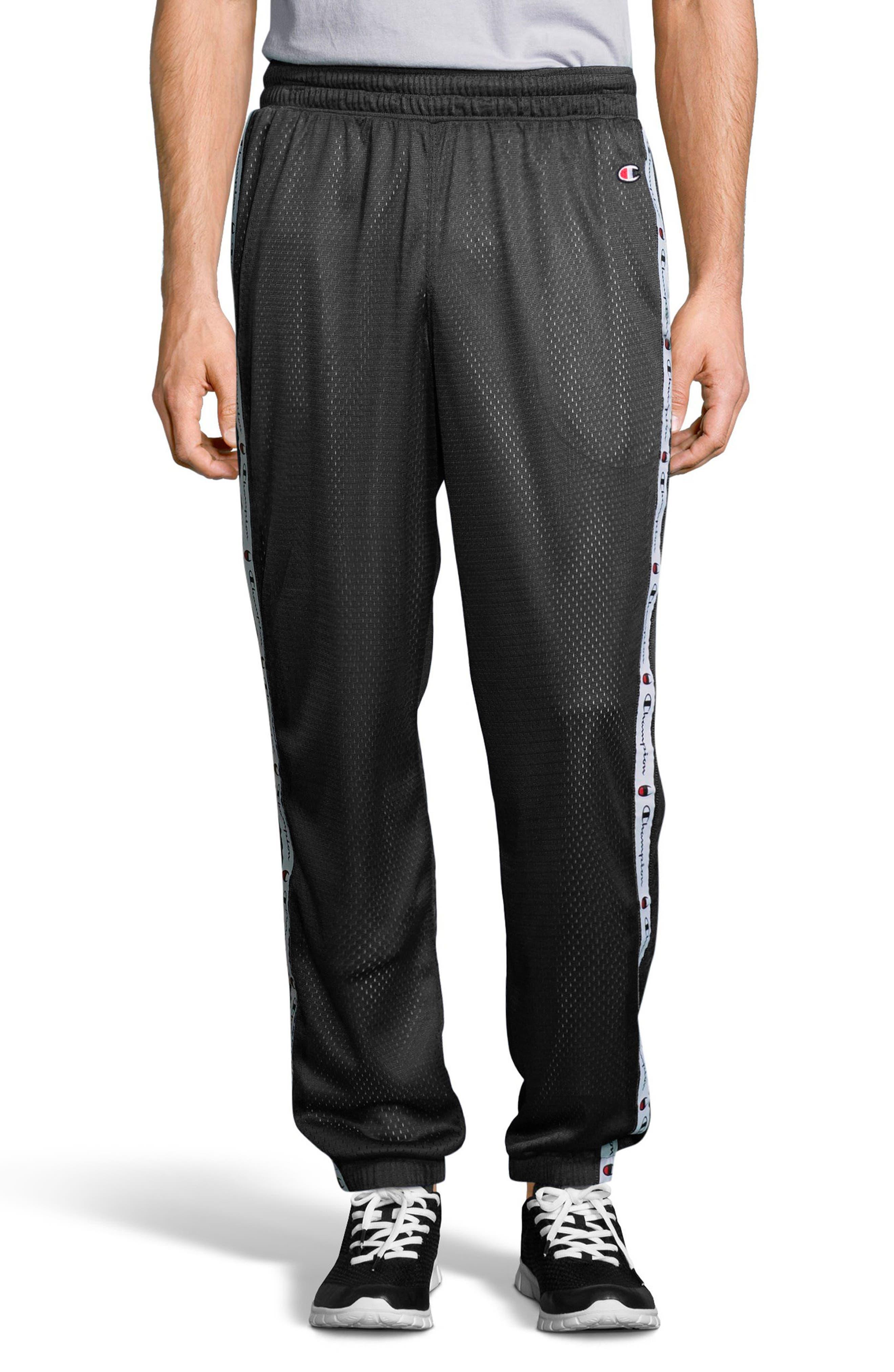 Mesh Pants,                         Main,                         color, Black