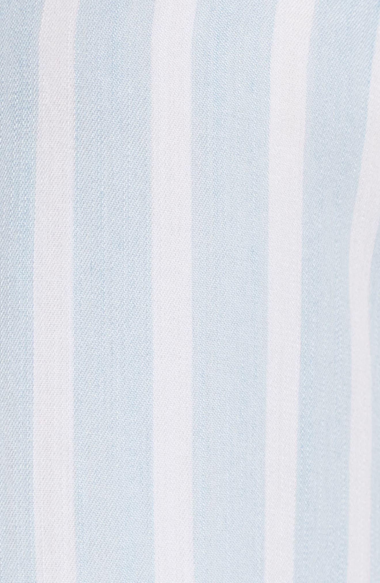 Nora Stripe Dress,                             Alternate thumbnail 6, color,                             Hampshire Stripe