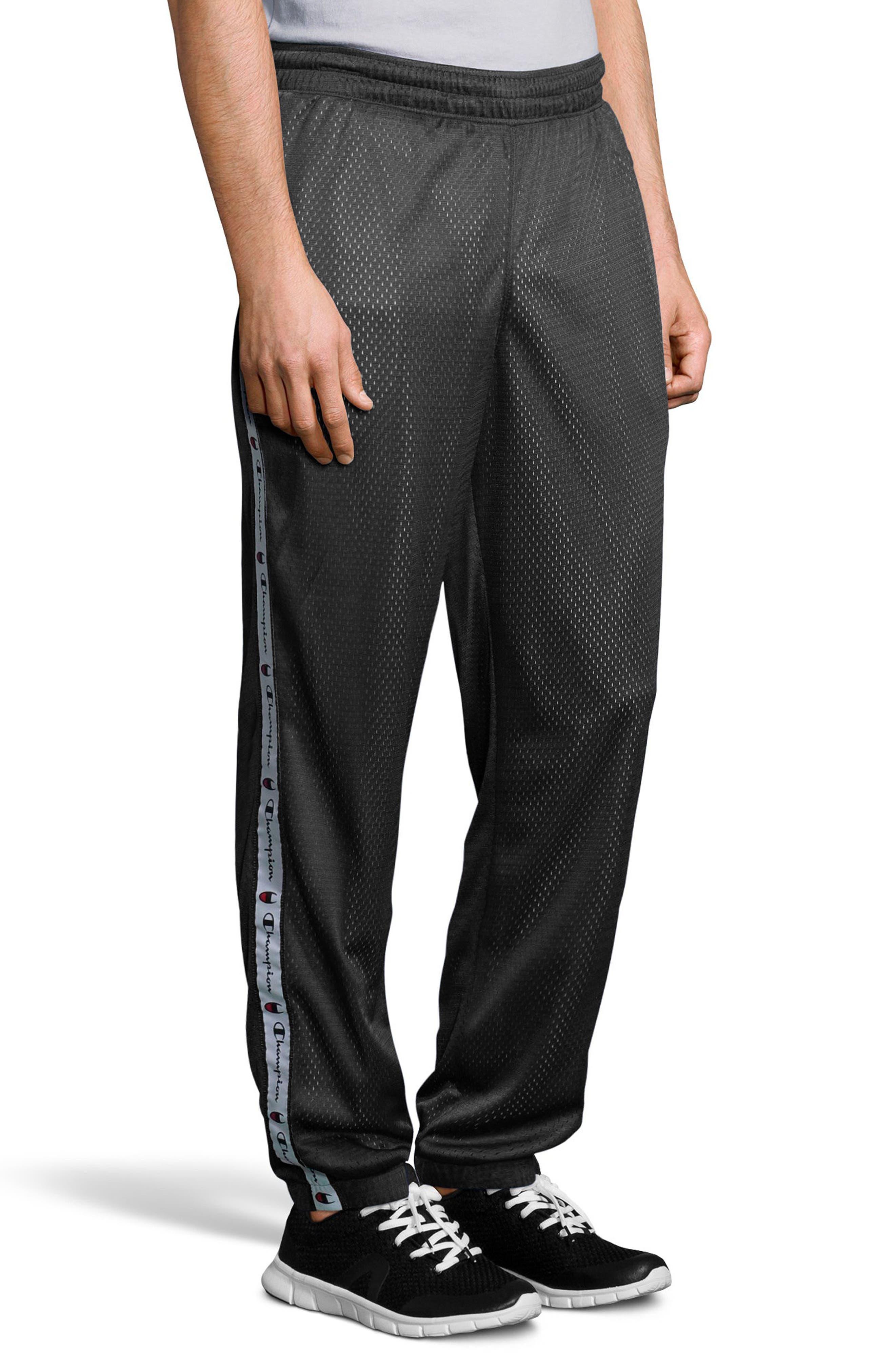 Mesh Pants,                             Alternate thumbnail 3, color,                             Black