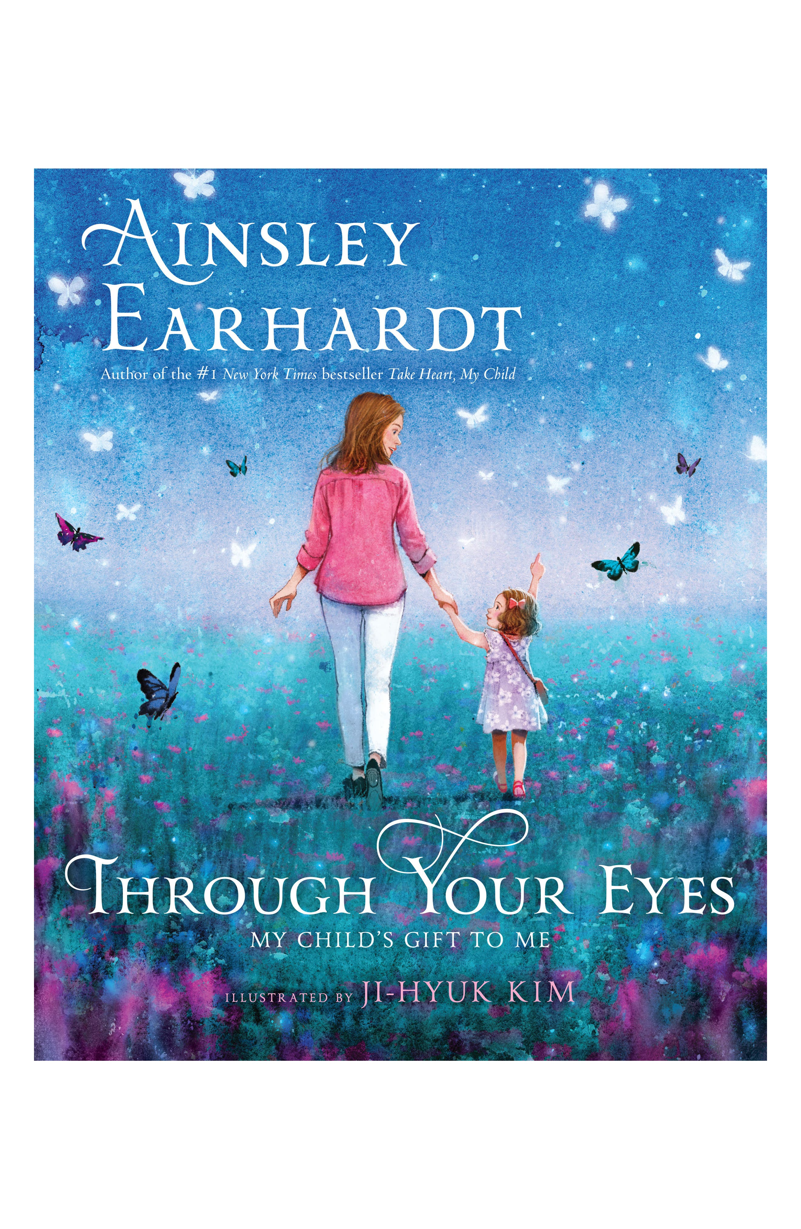 'Through Your Eyes: My Child's Gift to Me' Book,                             Main thumbnail 1, color,                             Multi