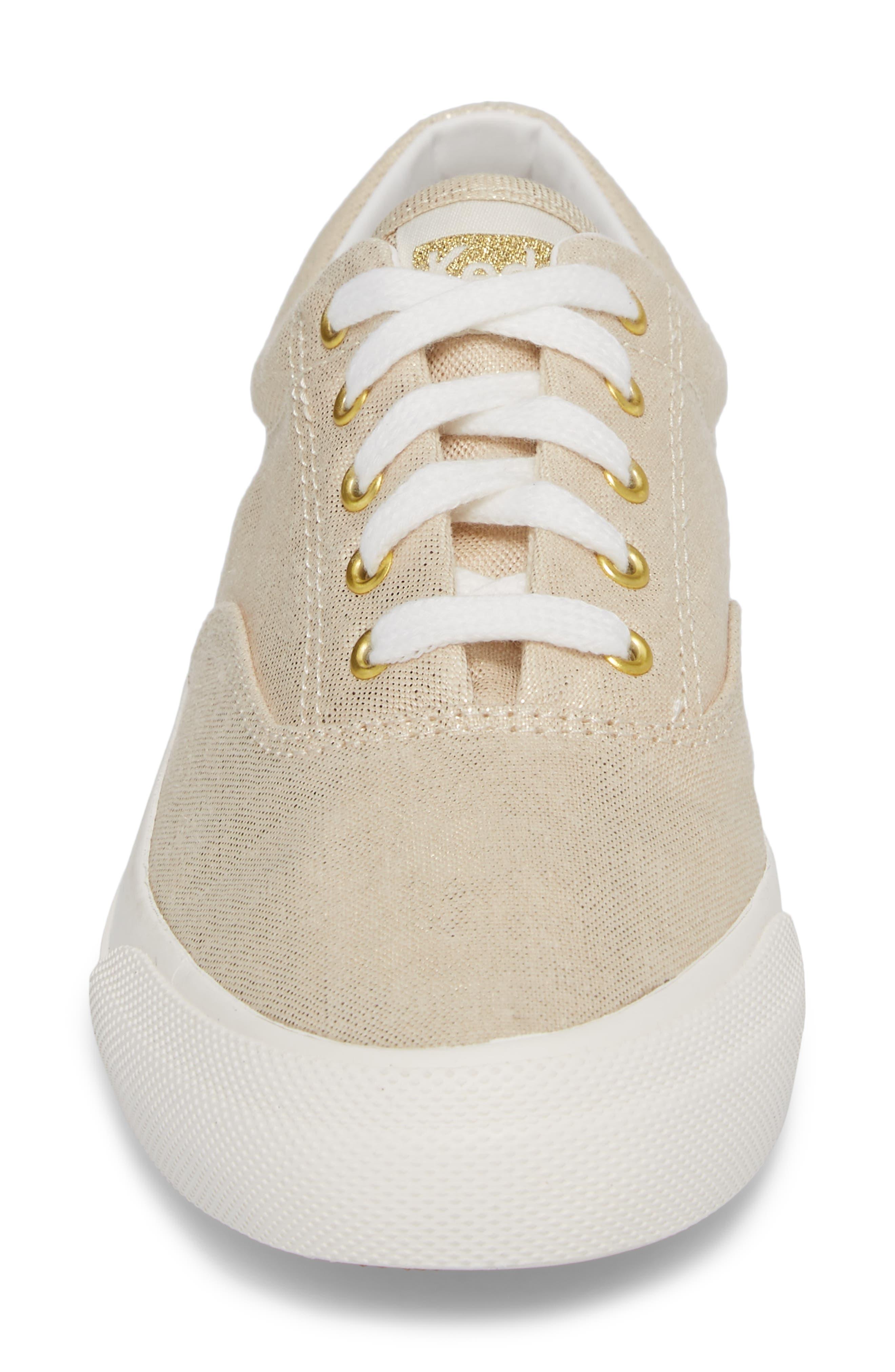 Alternate Image 4  - Keds® Anchor Metallic Linen Sneaker (Women)