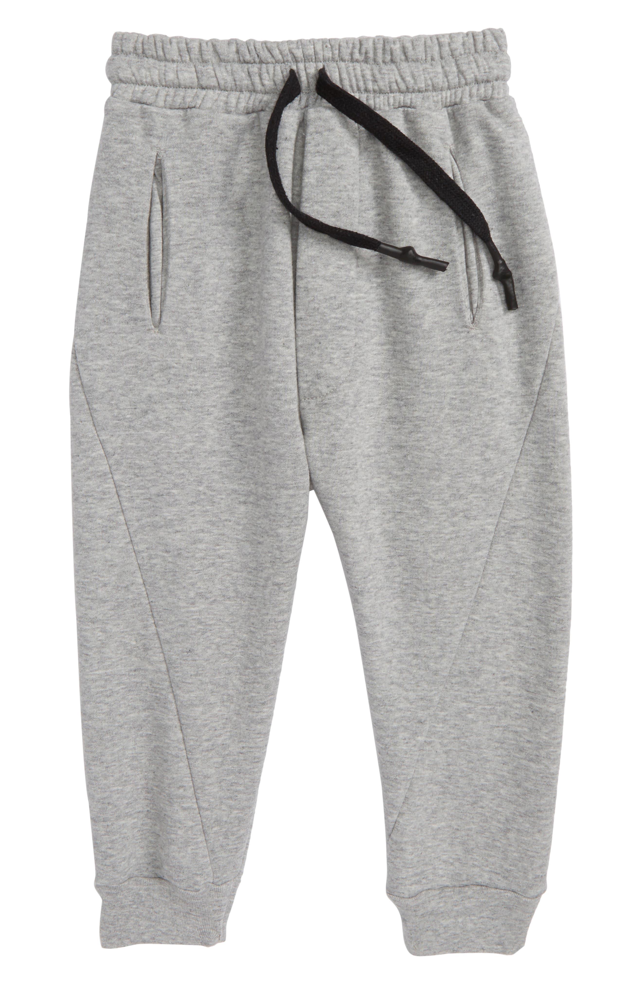 Solid Sweatpants,                         Main,                         color, Heather Grey
