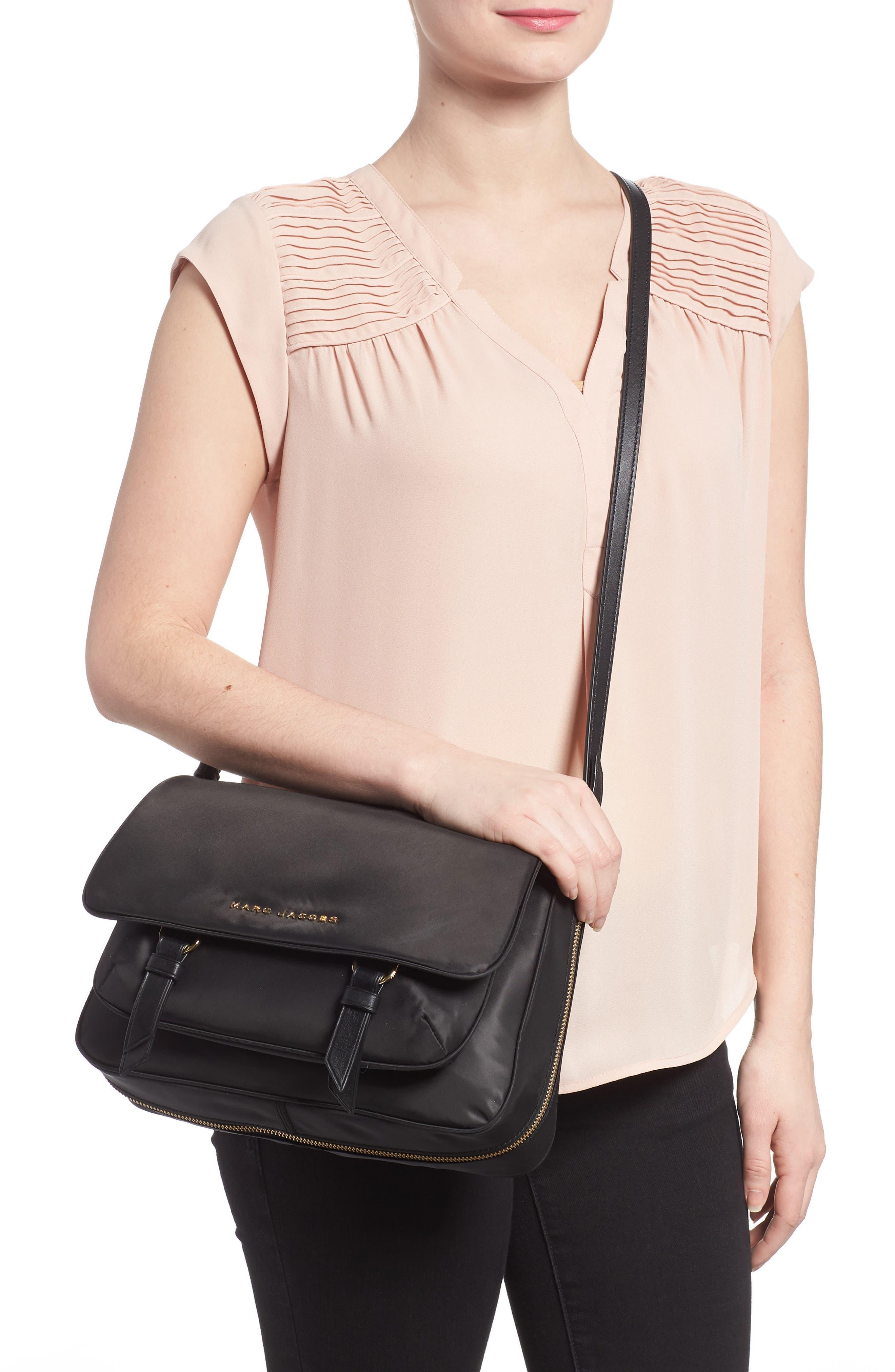 Zip That Small Messenger Bag,                             Alternate thumbnail 2, color,                             Black