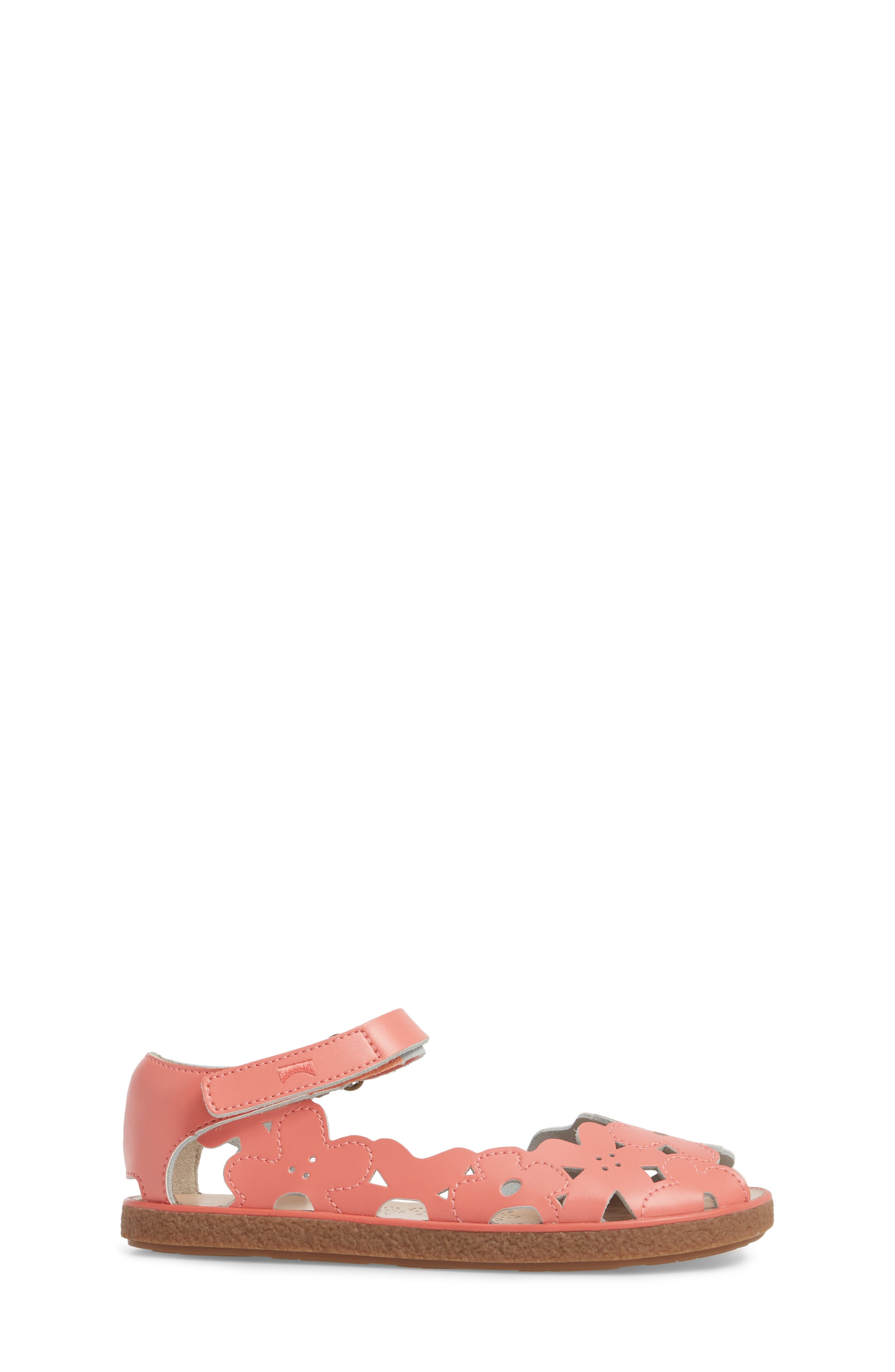 Twins Perforated Sandal,                             Alternate thumbnail 3, color,                             Pink