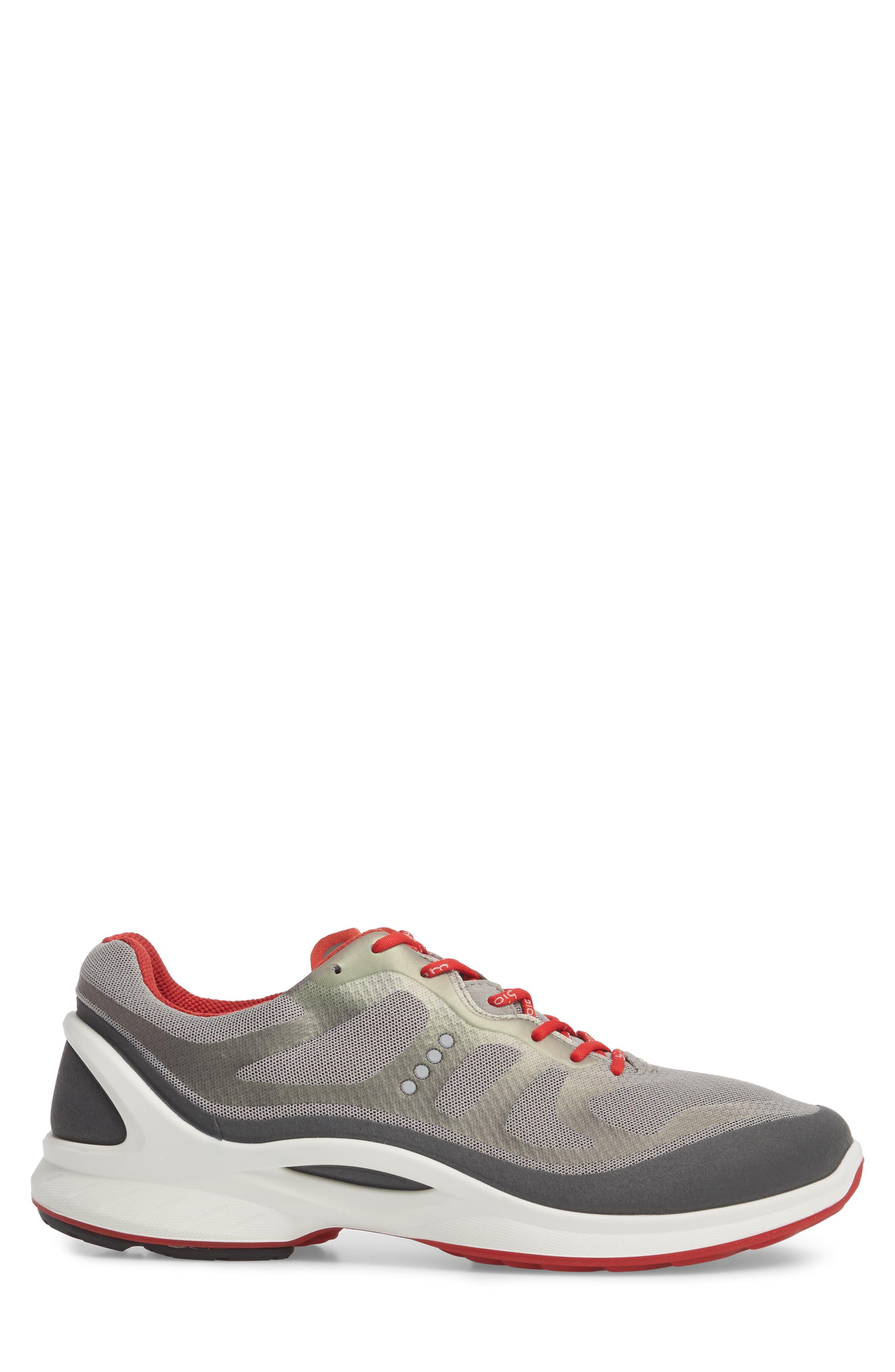 BIOM Fjuel Tie Sneaker,                             Alternate thumbnail 3, color,                             Dark Shadow/ Wild Dove Textile
