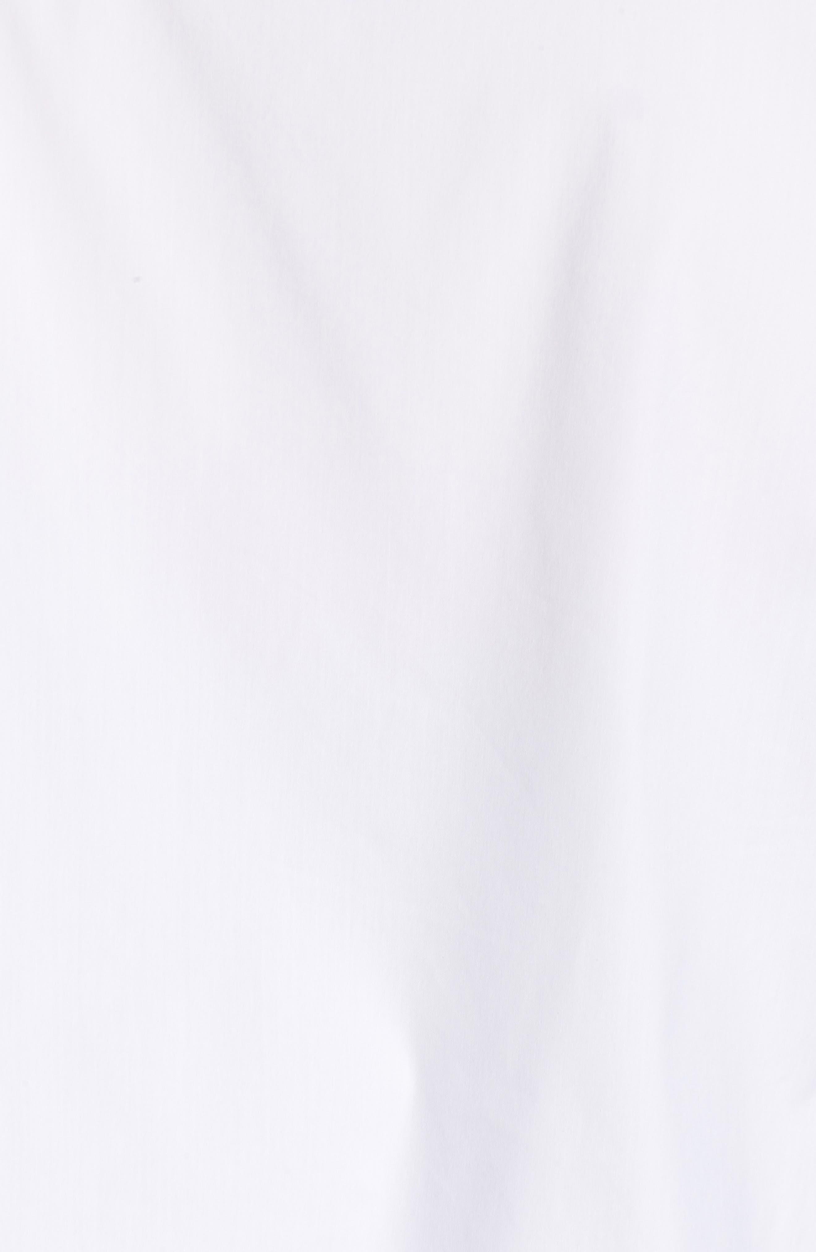 Knot Neck Top,                             Alternate thumbnail 6, color,                             White