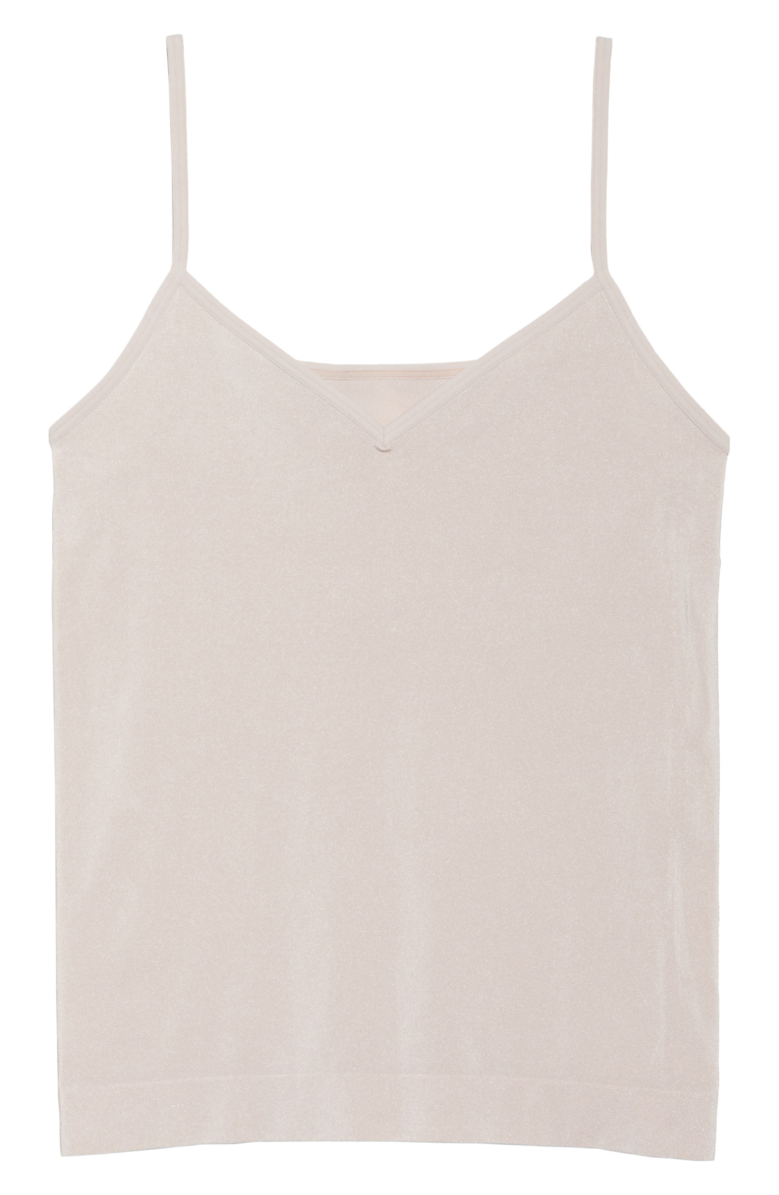 Alternate Image 4  - Halogen® Seamless Two-Way Camisole (2 for $49)