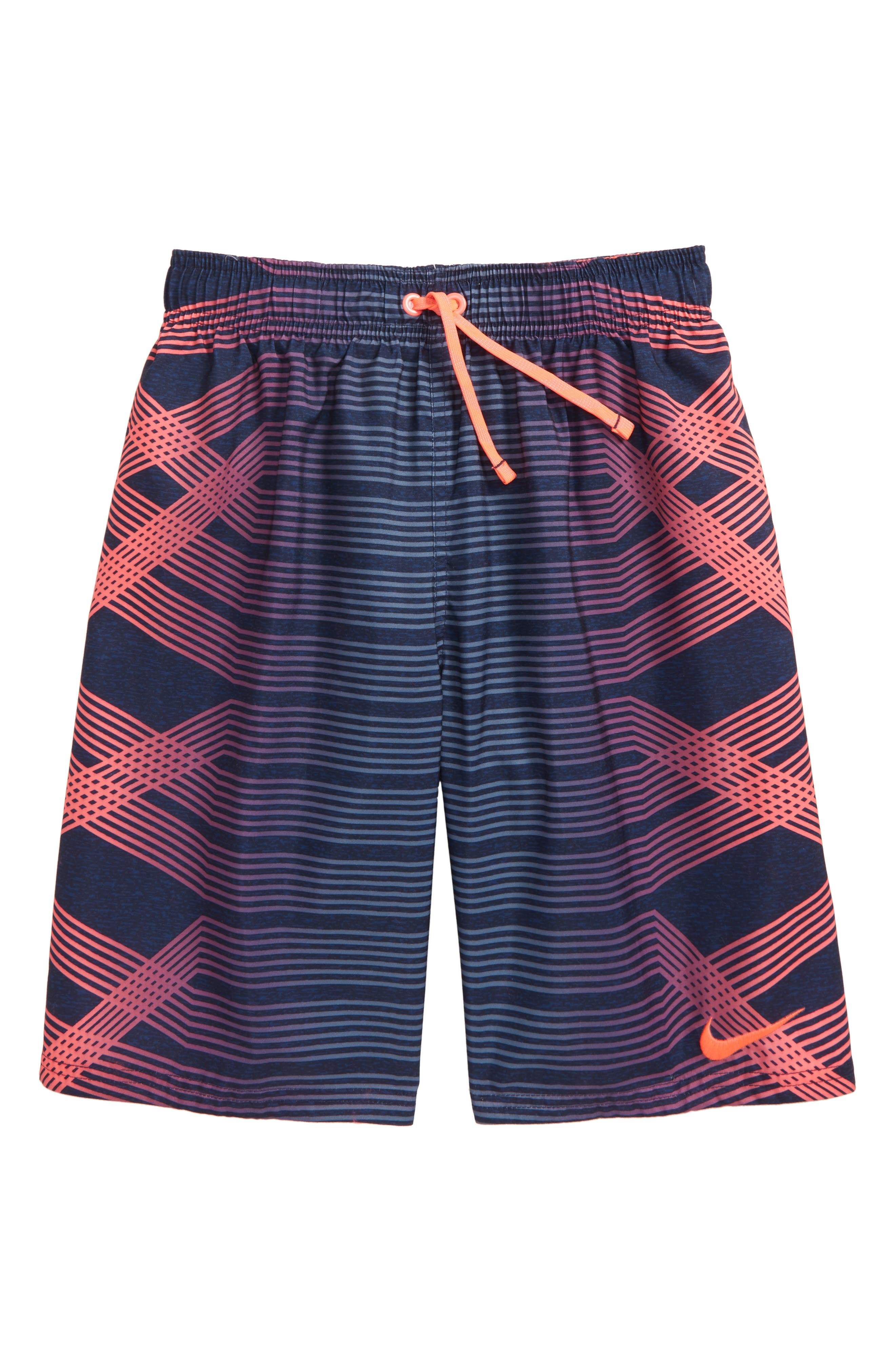 Breaker Volley Shorts,                         Main,                         color, Hot Punch