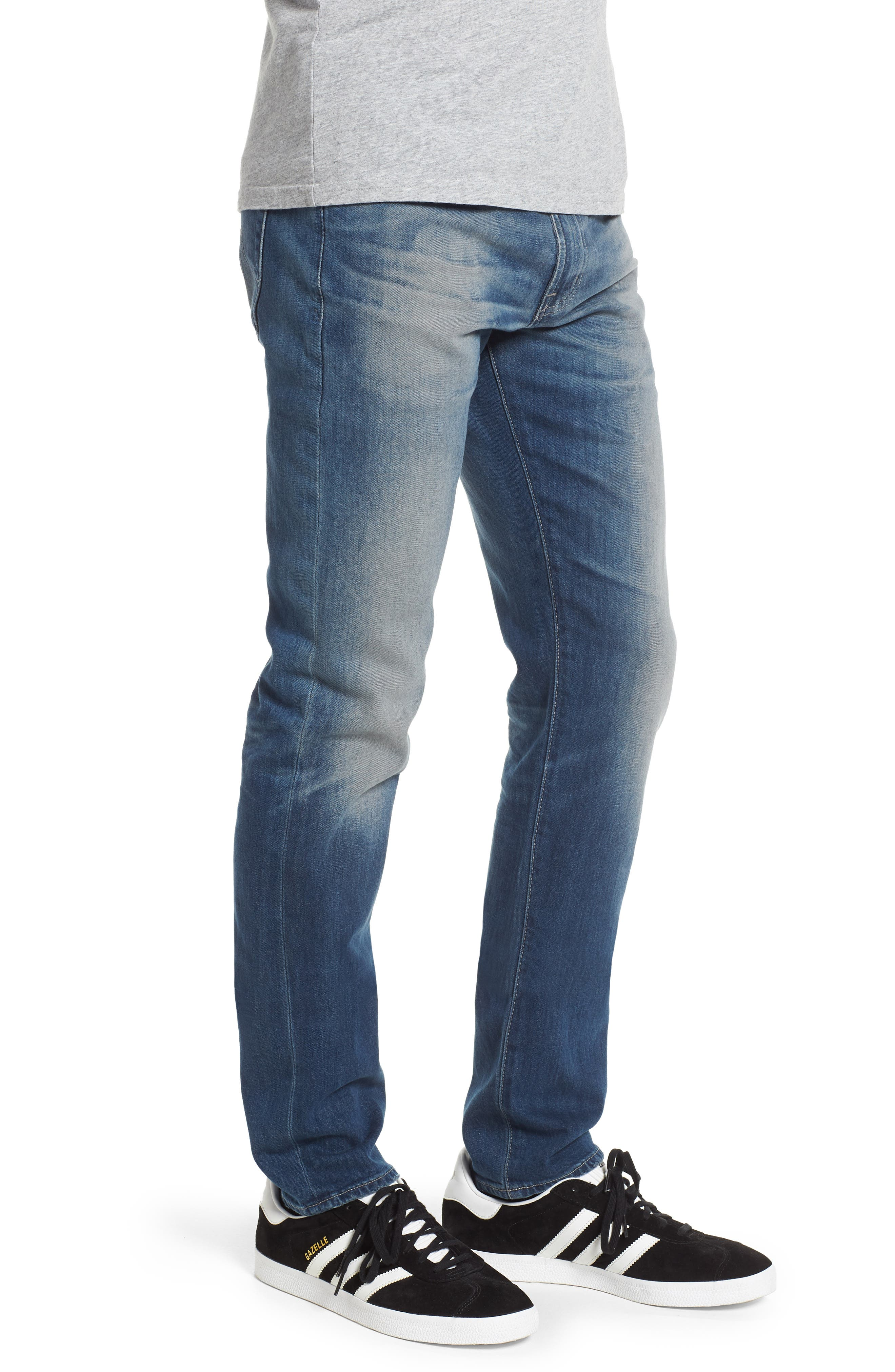 Dylan Skinny Fit Jeans,                             Alternate thumbnail 3, color,                             12 Years Off Ramp