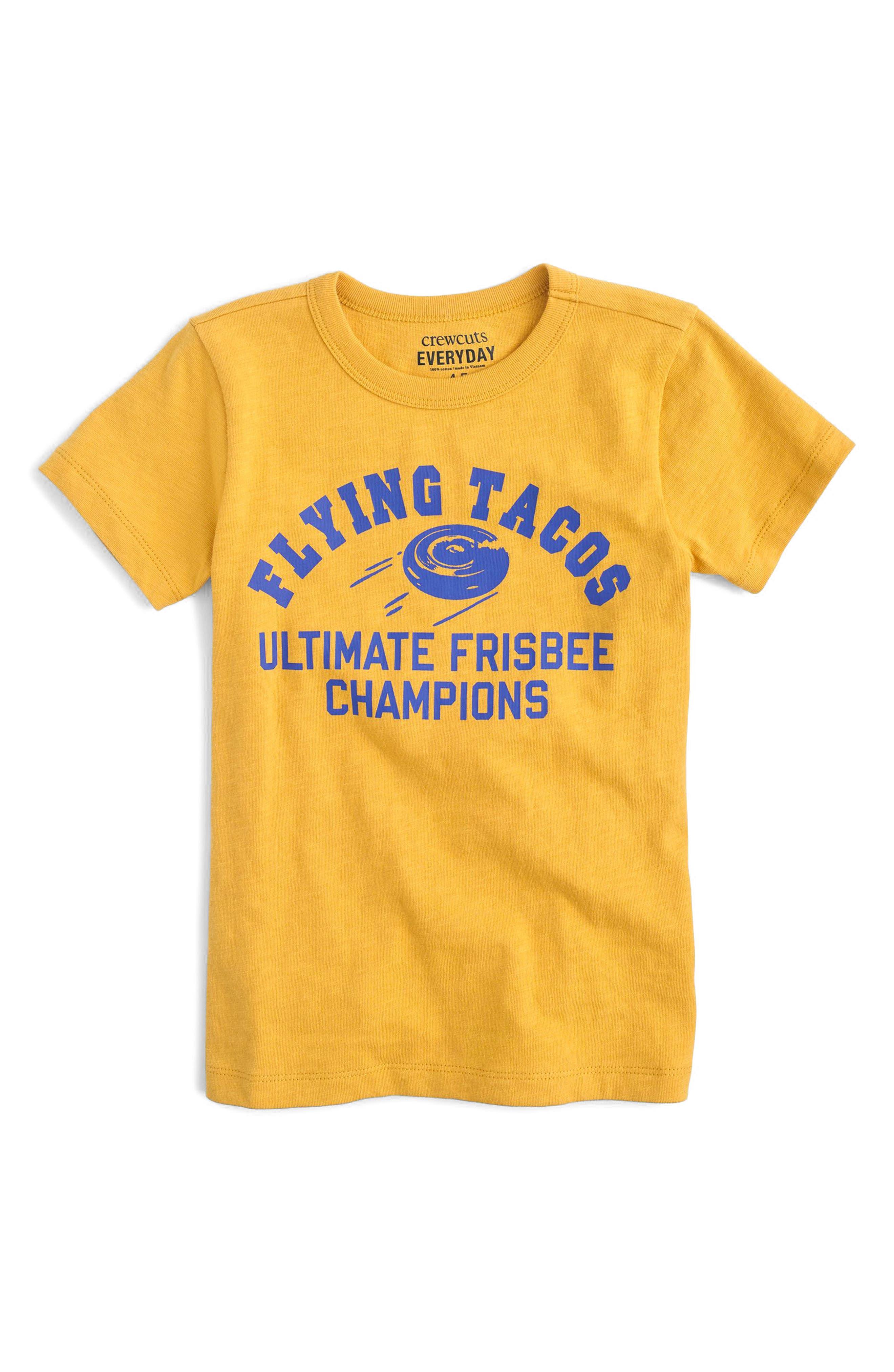 crewcuts by J.Crew Flying Taco T-Shirt (Toddler Boys, Little Boys & Big Boys)