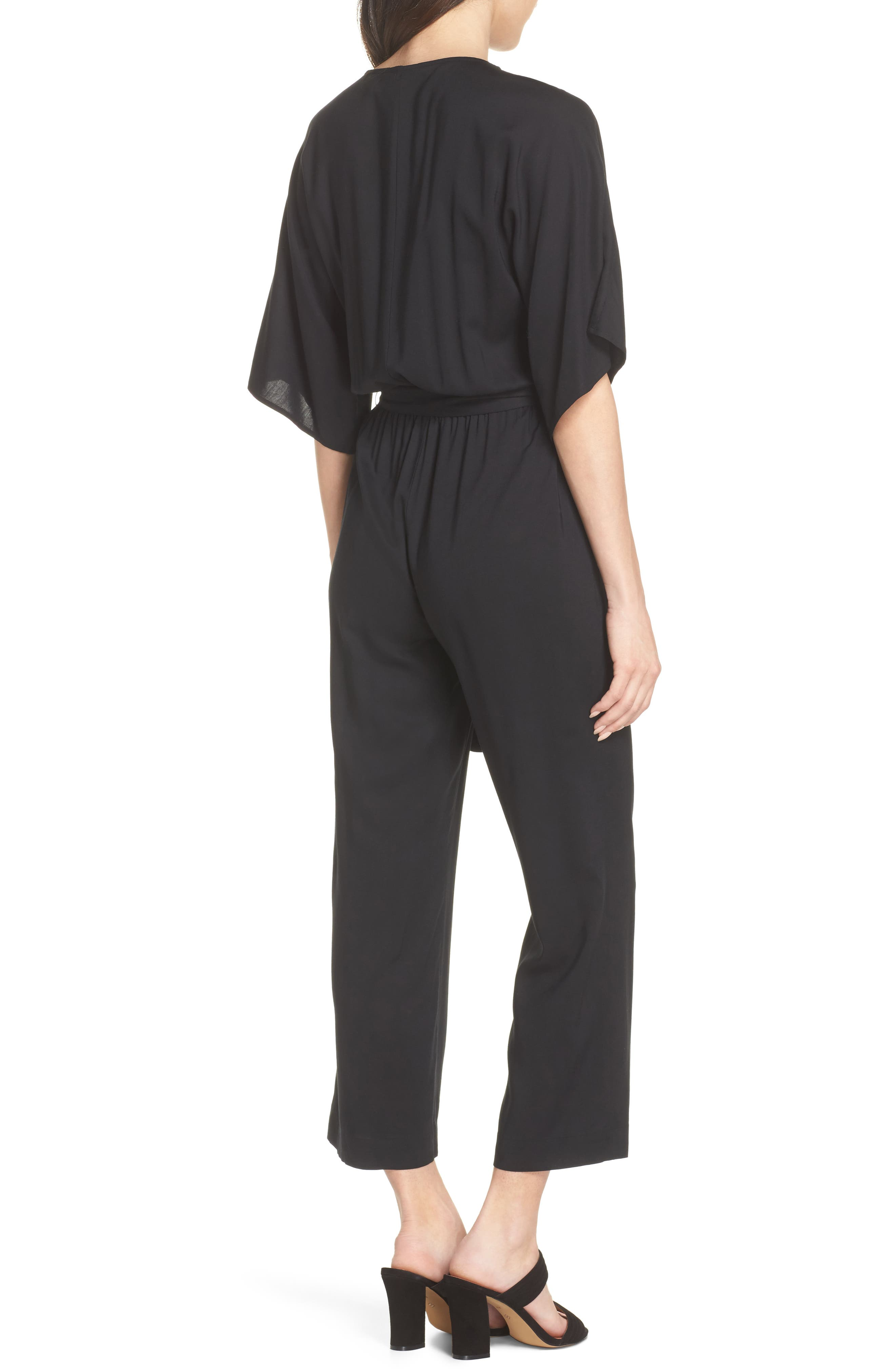 Vanette Jumpsuit,                             Alternate thumbnail 2, color,                             Black
