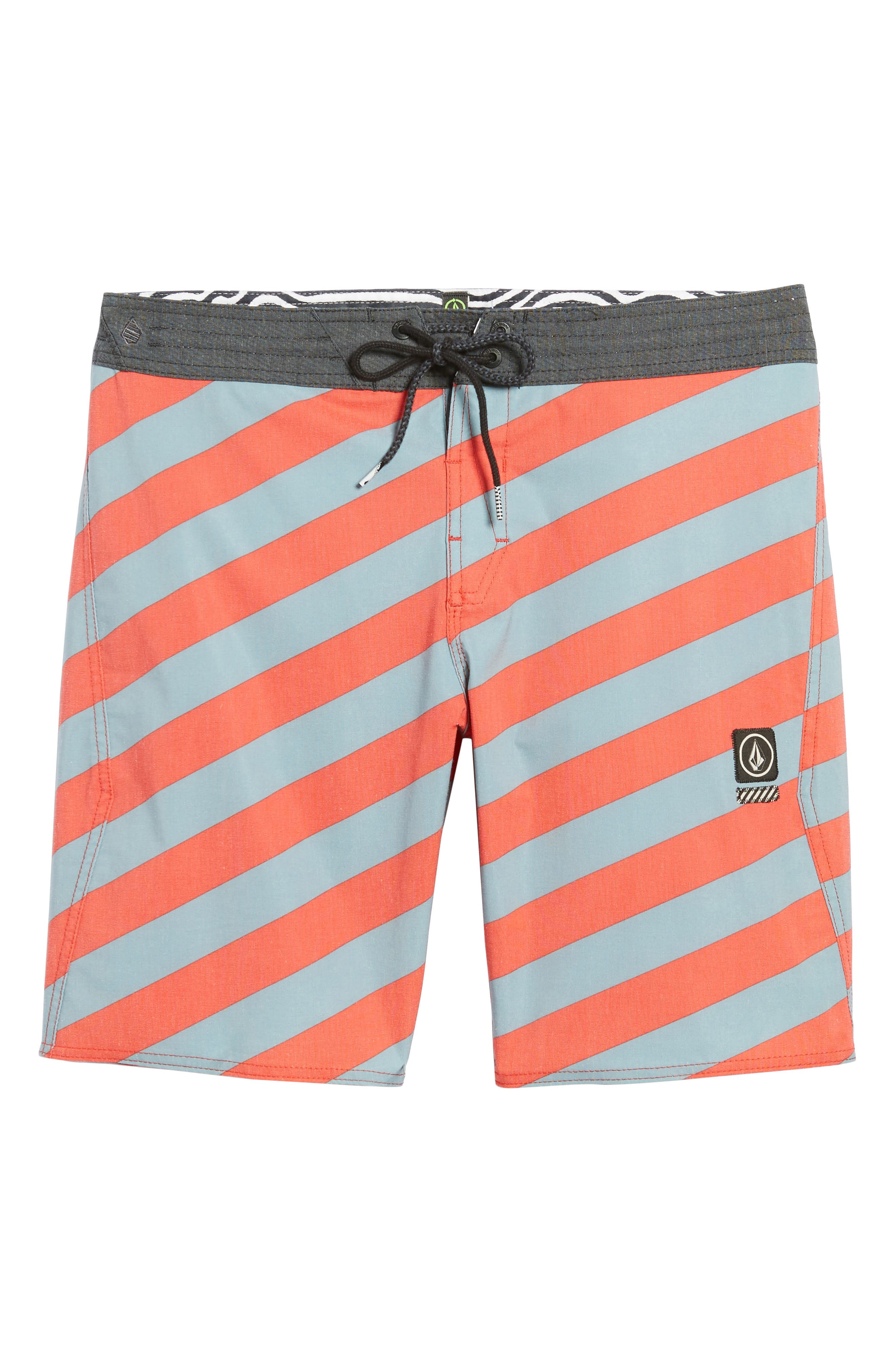 Stripey Stoney Boardshorts,                             Alternate thumbnail 6, color,                             Lead
