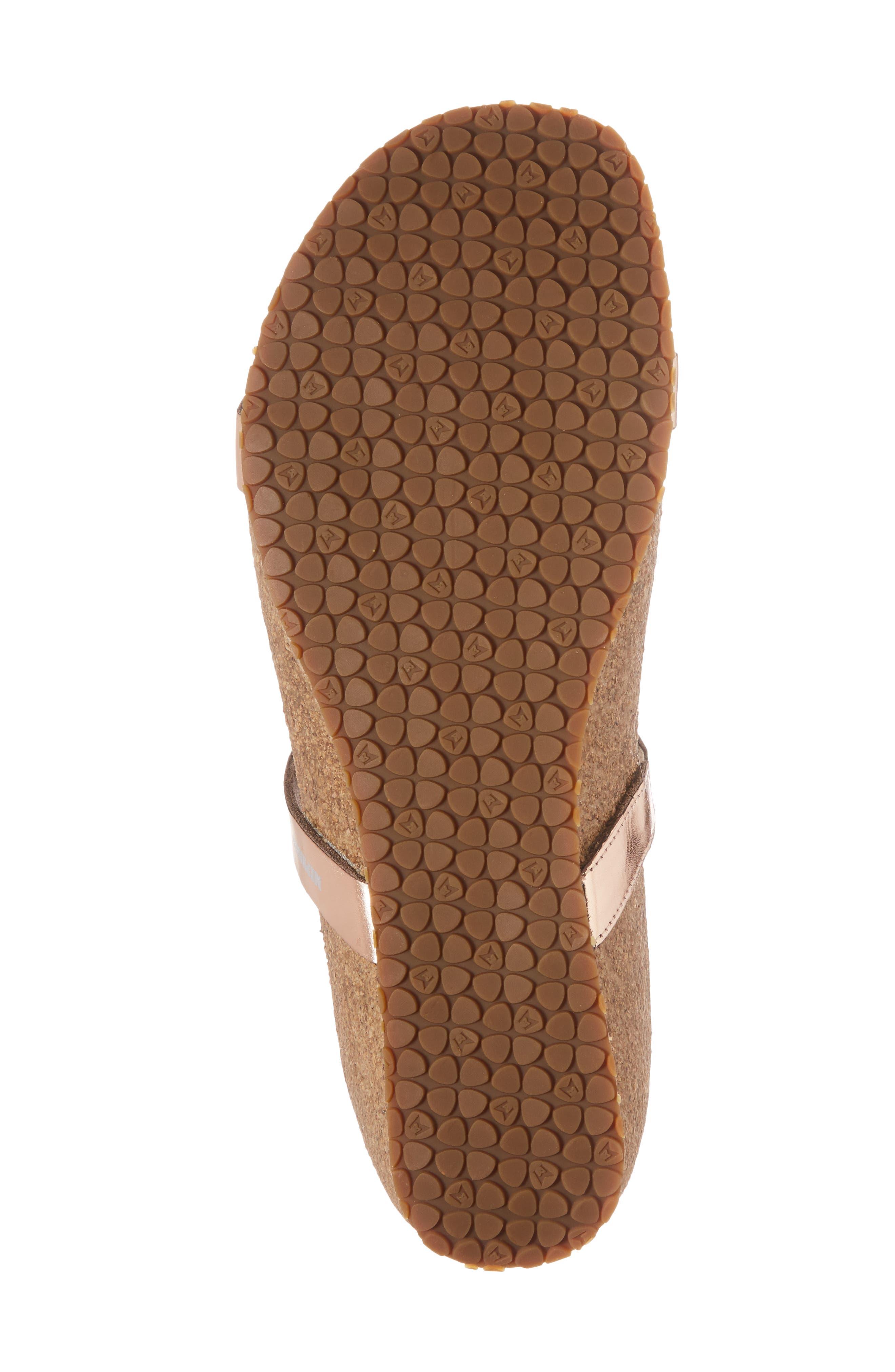 'Ivana' Crystal Embellished Slide Sandal,                             Alternate thumbnail 6, color,                             Old Pink Leather