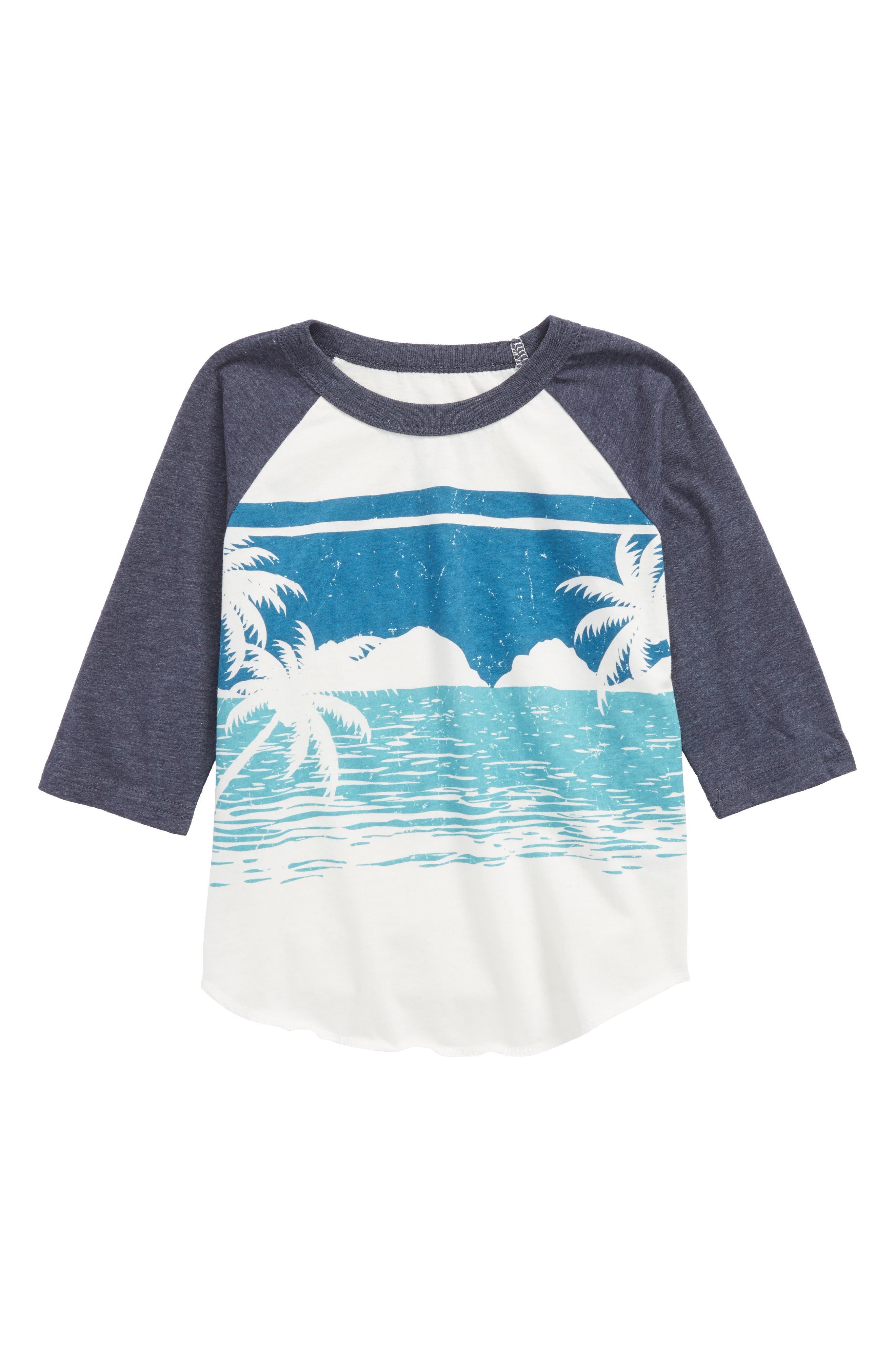 Alternate Image 1 Selected - Chaser Ocean View Raglan T-Shirt (Toddler Boys, Little Boys & Big Boys)
