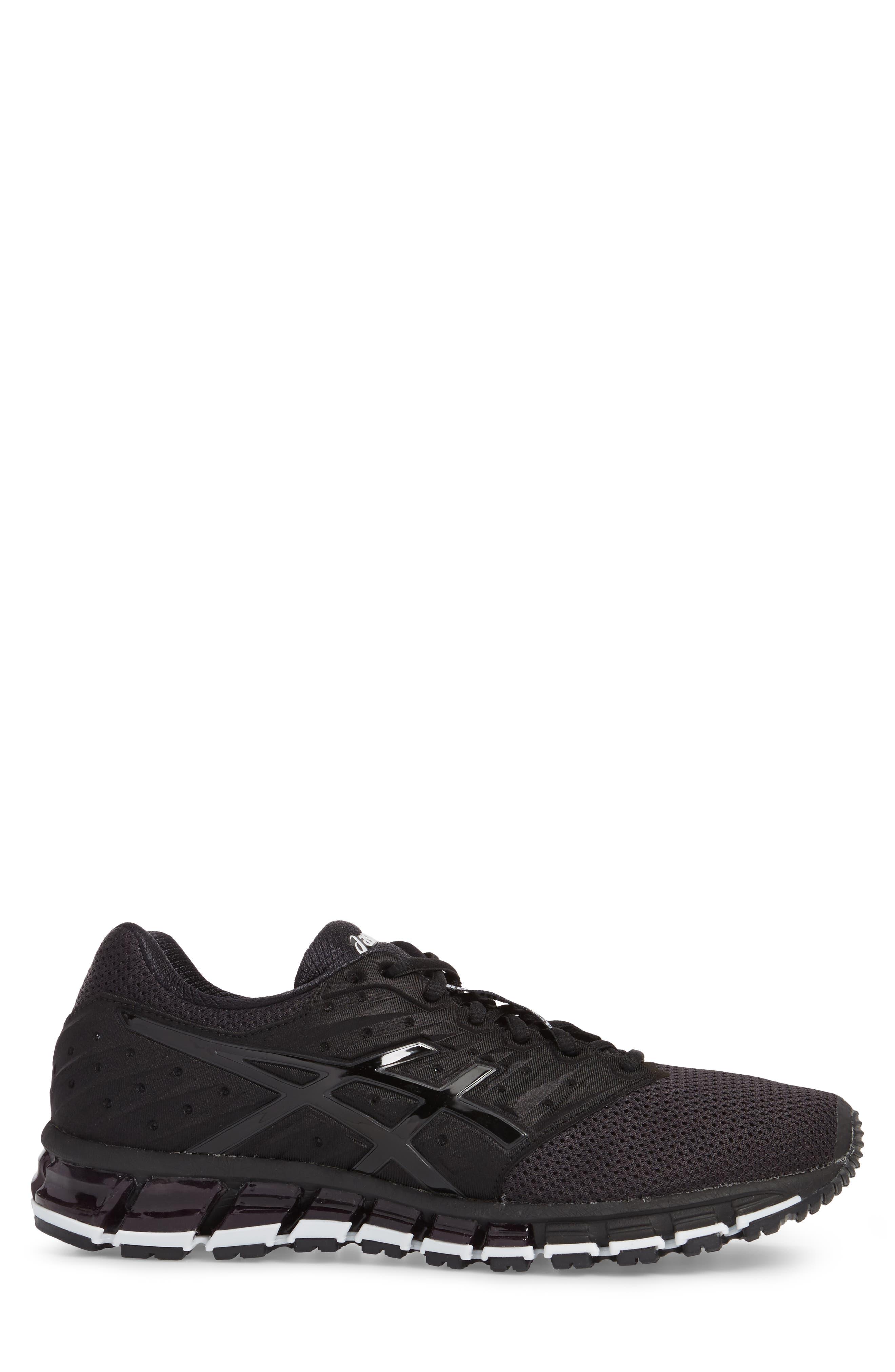 GEL-Quantum 180 2 MX Running Shoe,                             Alternate thumbnail 3, color,                             Phantom/ Black/ White
