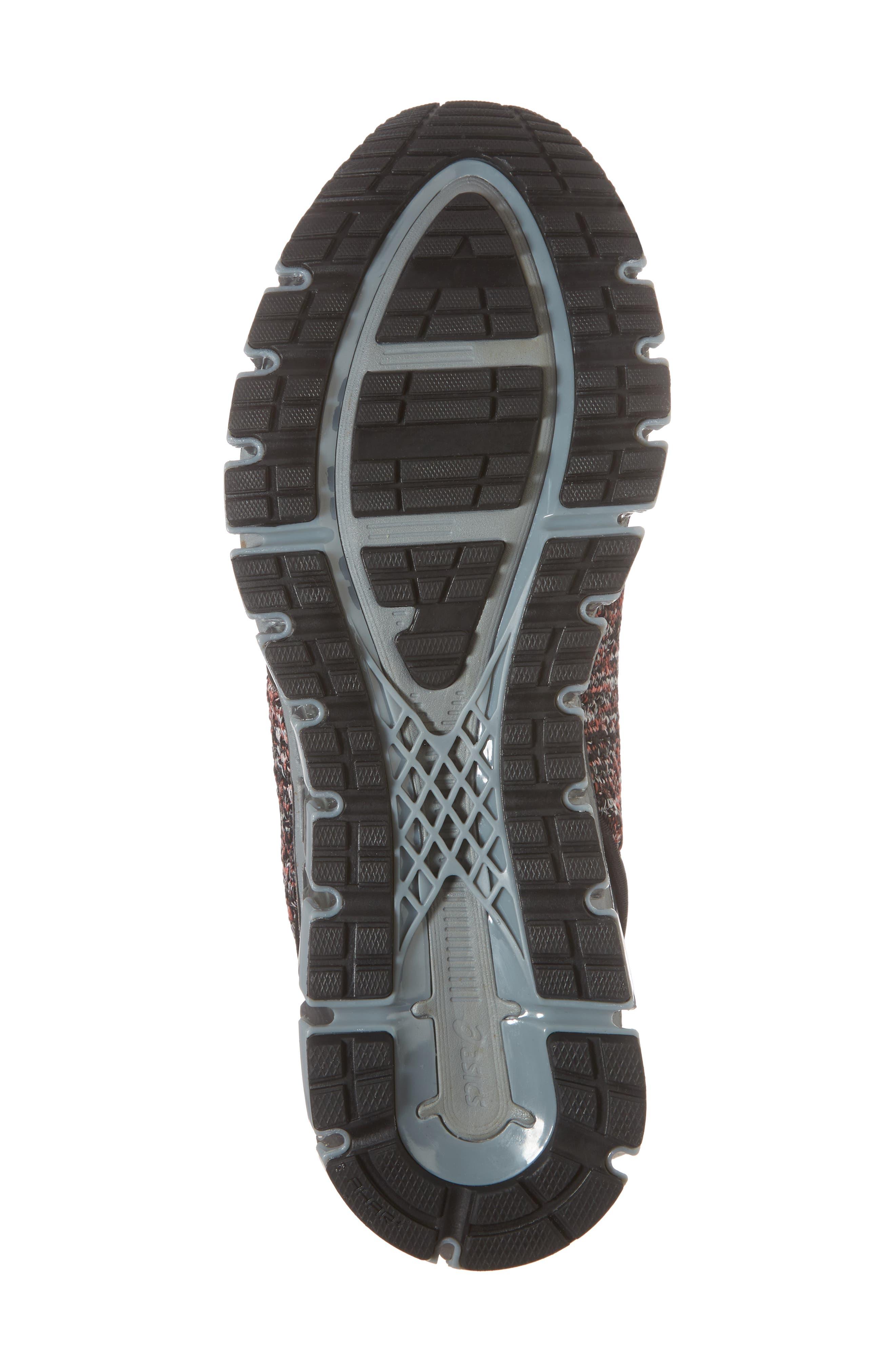 GEL-Quantum 360 Running Shoe,                             Alternate thumbnail 6, color,                             Black/ Class Red