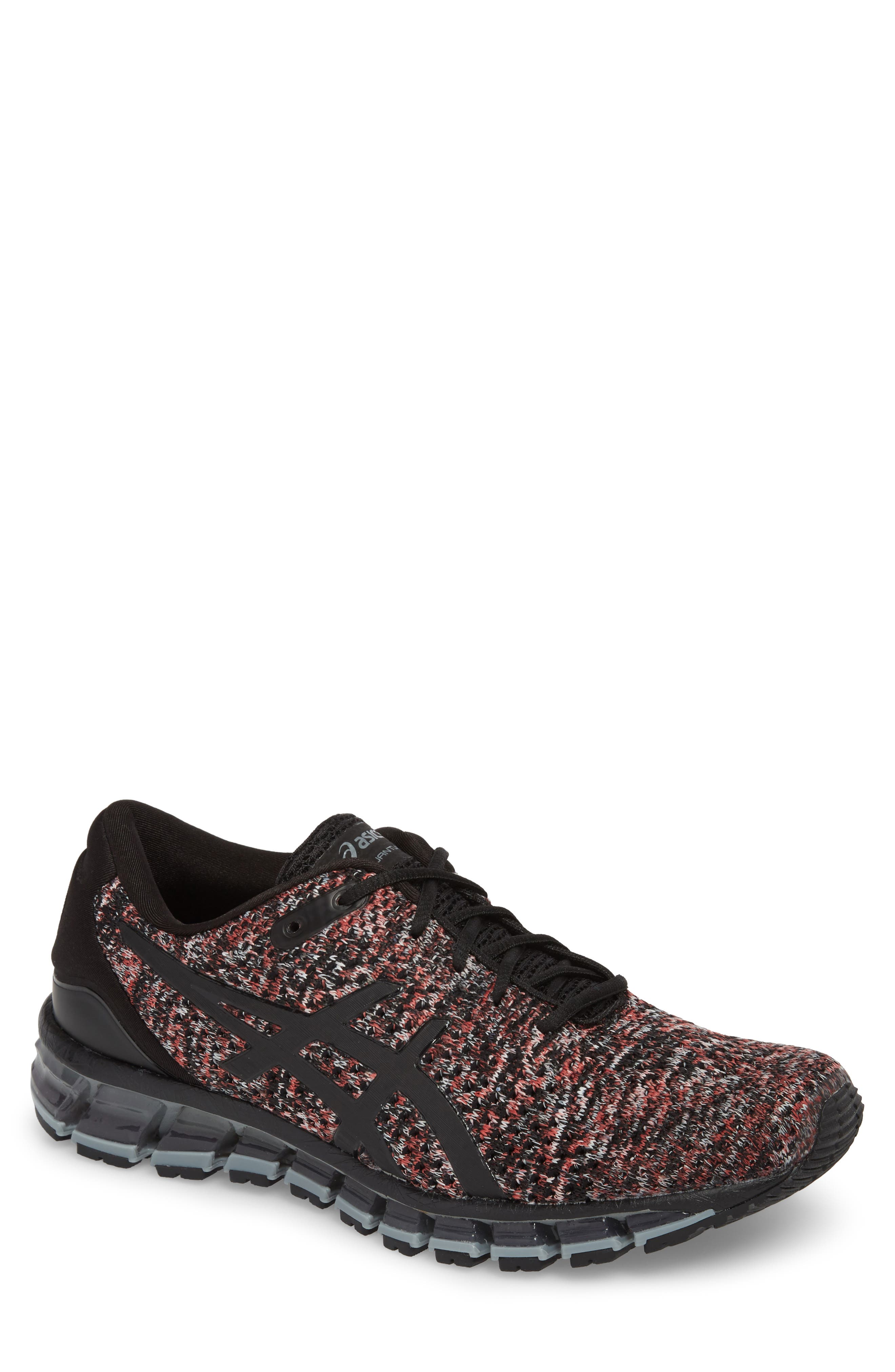 GEL-Quantum 360 Running Shoe,                             Main thumbnail 1, color,                             Black/ Class Red