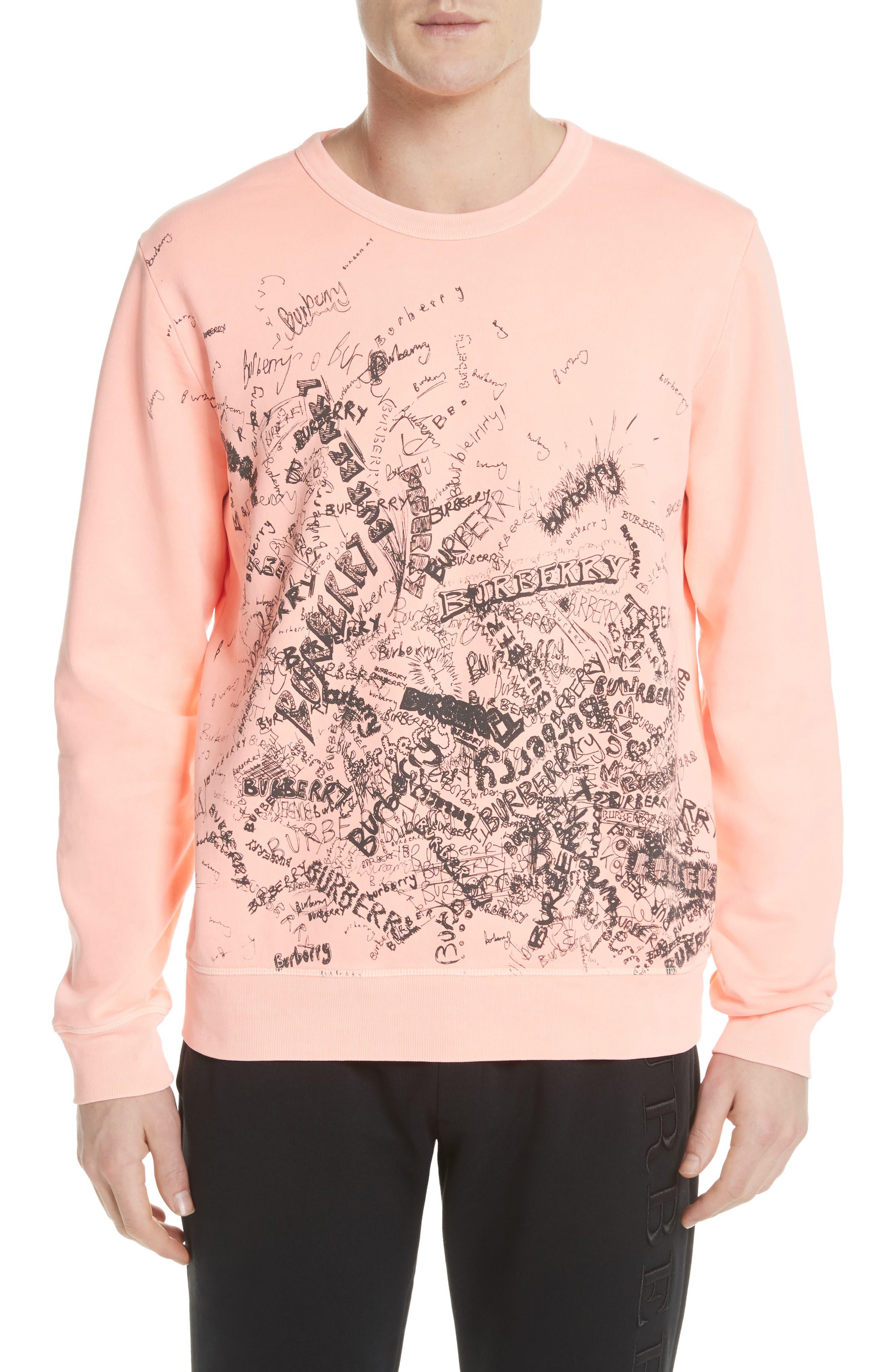 Burberry Rennie Graphic Crewneck Sweatshirt