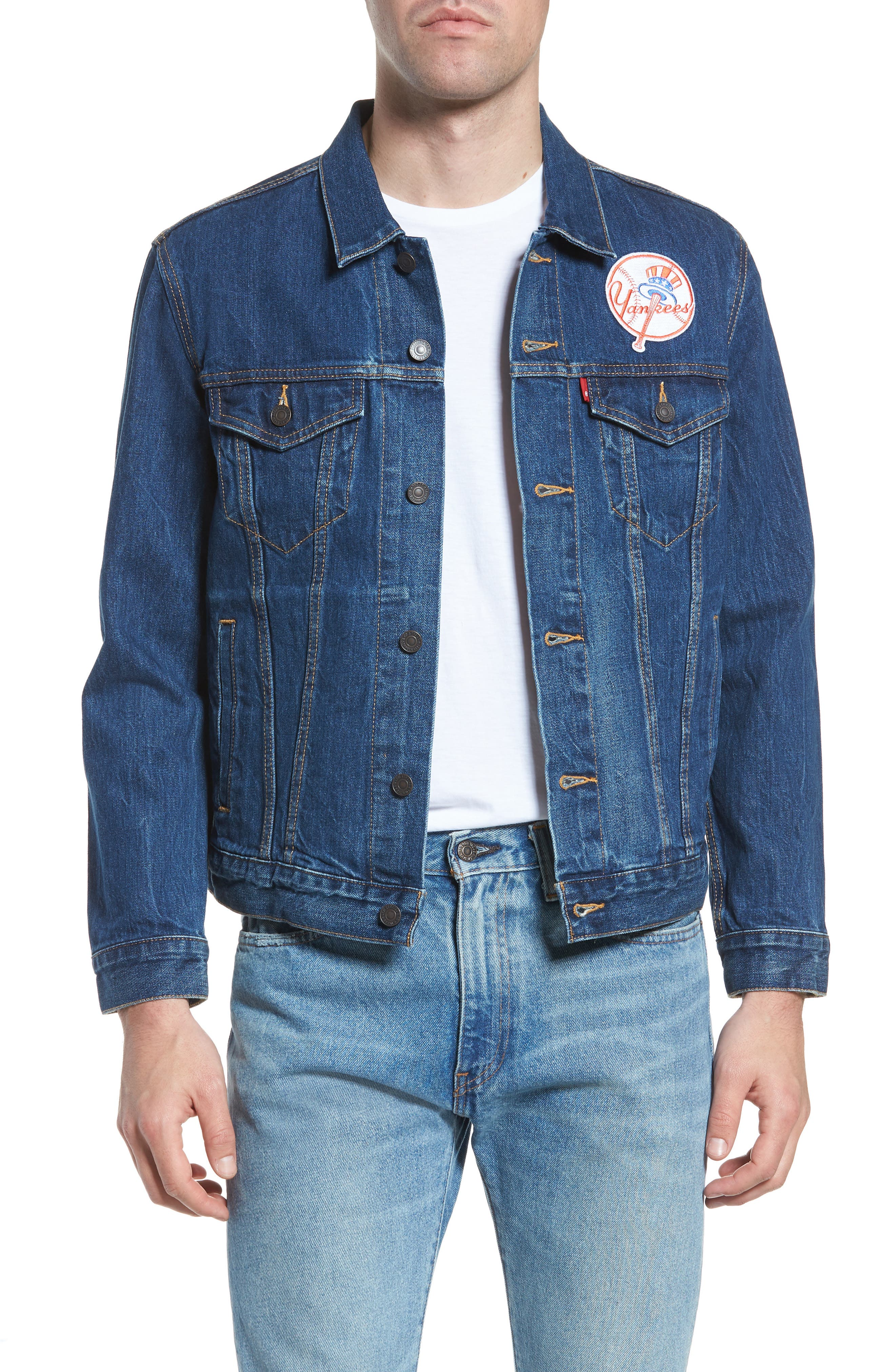 Levi's® MLB Yankees Denim Trucker Jacket