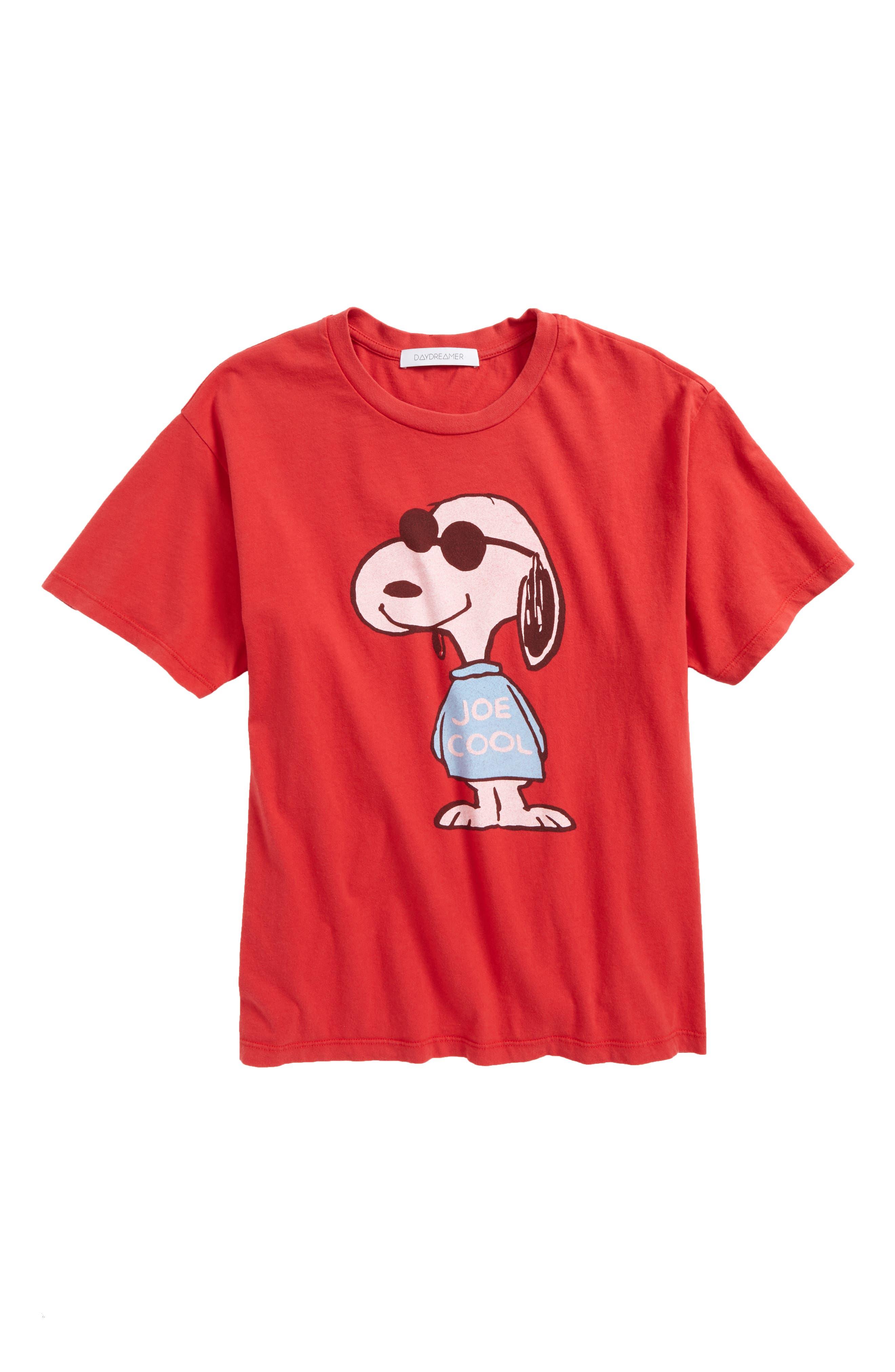 DAYDREAMER Joe Cool Tee in Red