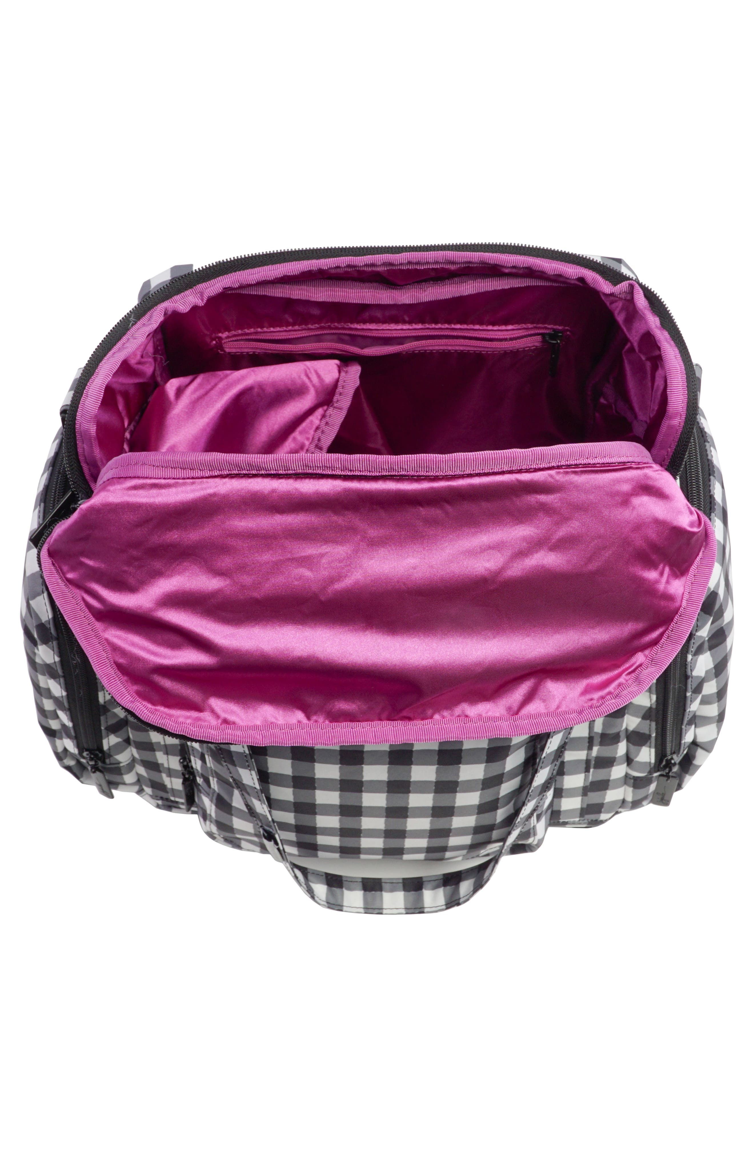 Onyx Be Supplied Pumping Bag,                             Alternate thumbnail 3, color,                             Gingham Style