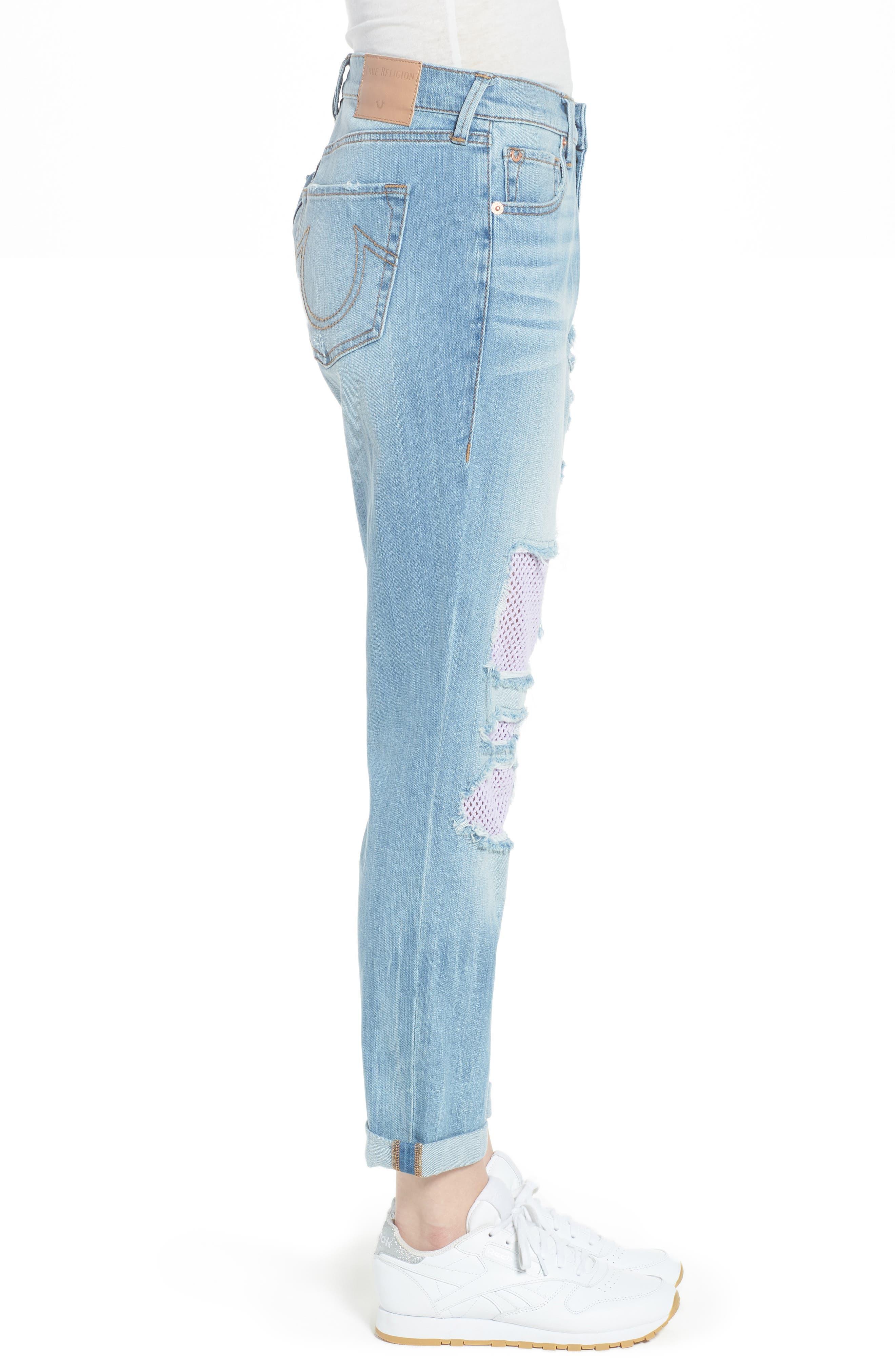 Cameron Slim Boyfriend Jeans,                             Alternate thumbnail 3, color,                             Esgl Second Quarter