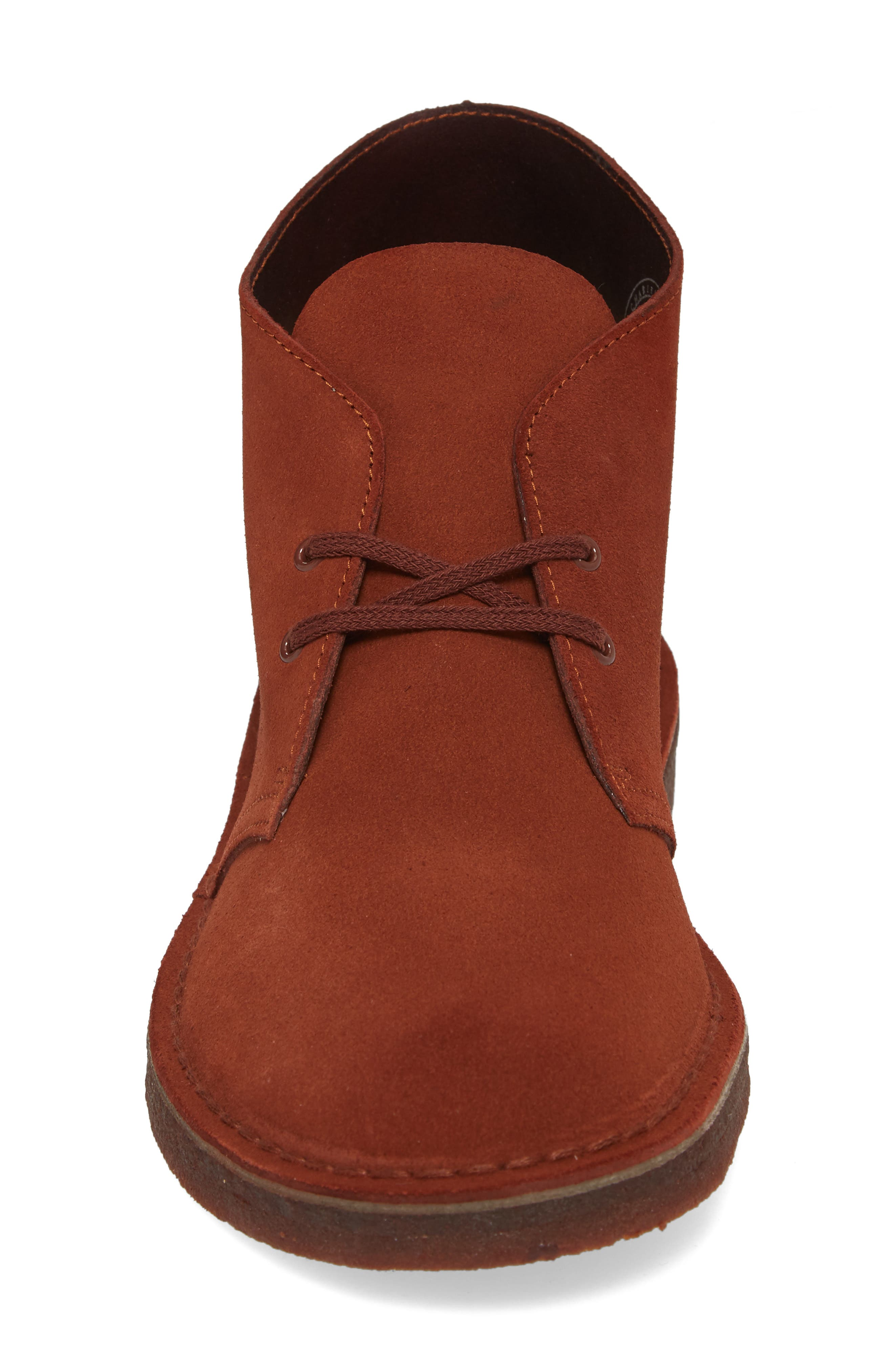Clarks<sup>®</sup> Desert Boot,                             Alternate thumbnail 4, color,                             Mahogany Leather