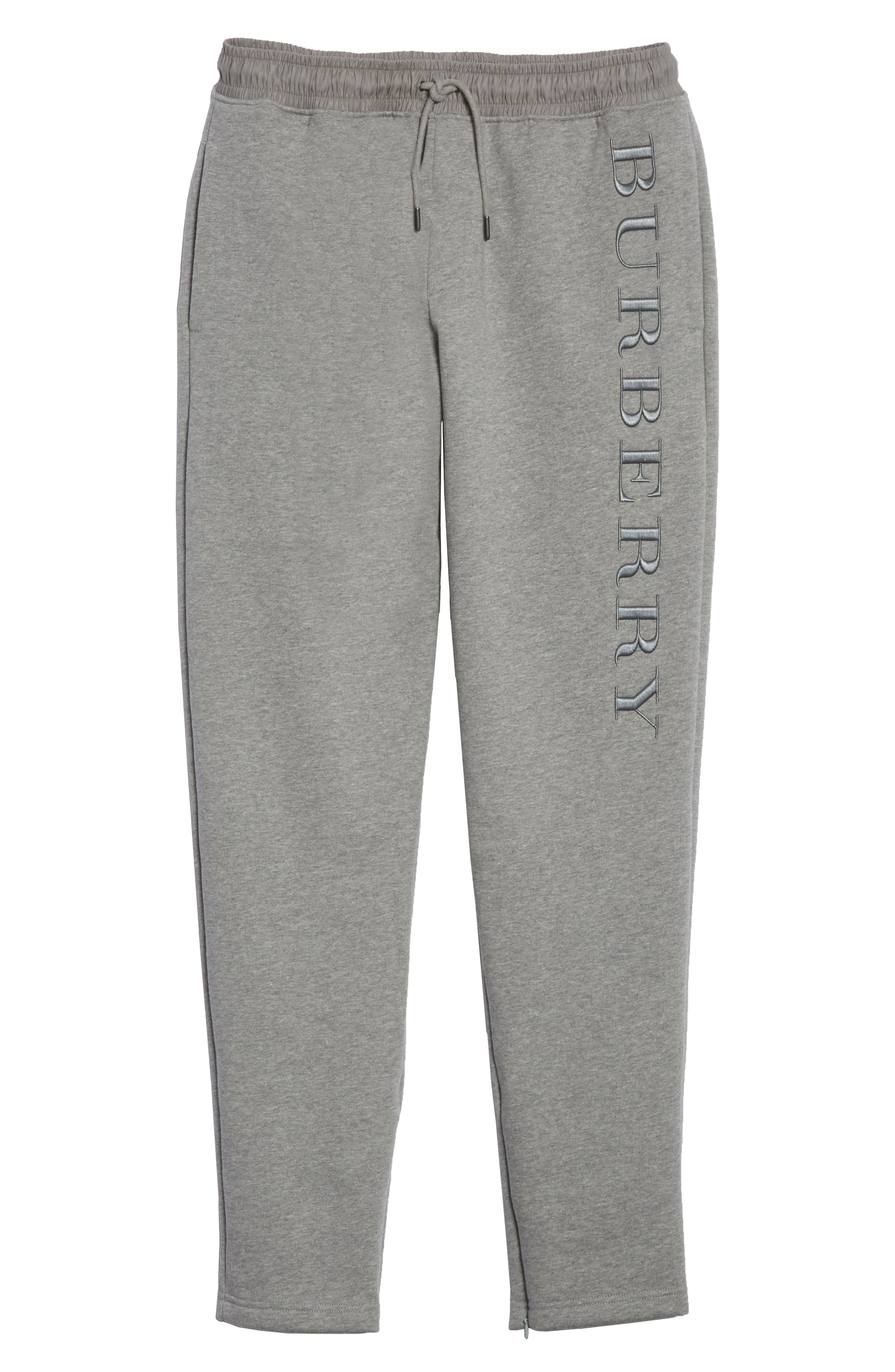 Nickford Lounge Pants,                             Alternate thumbnail 6, color,                             Pale Grey Melange