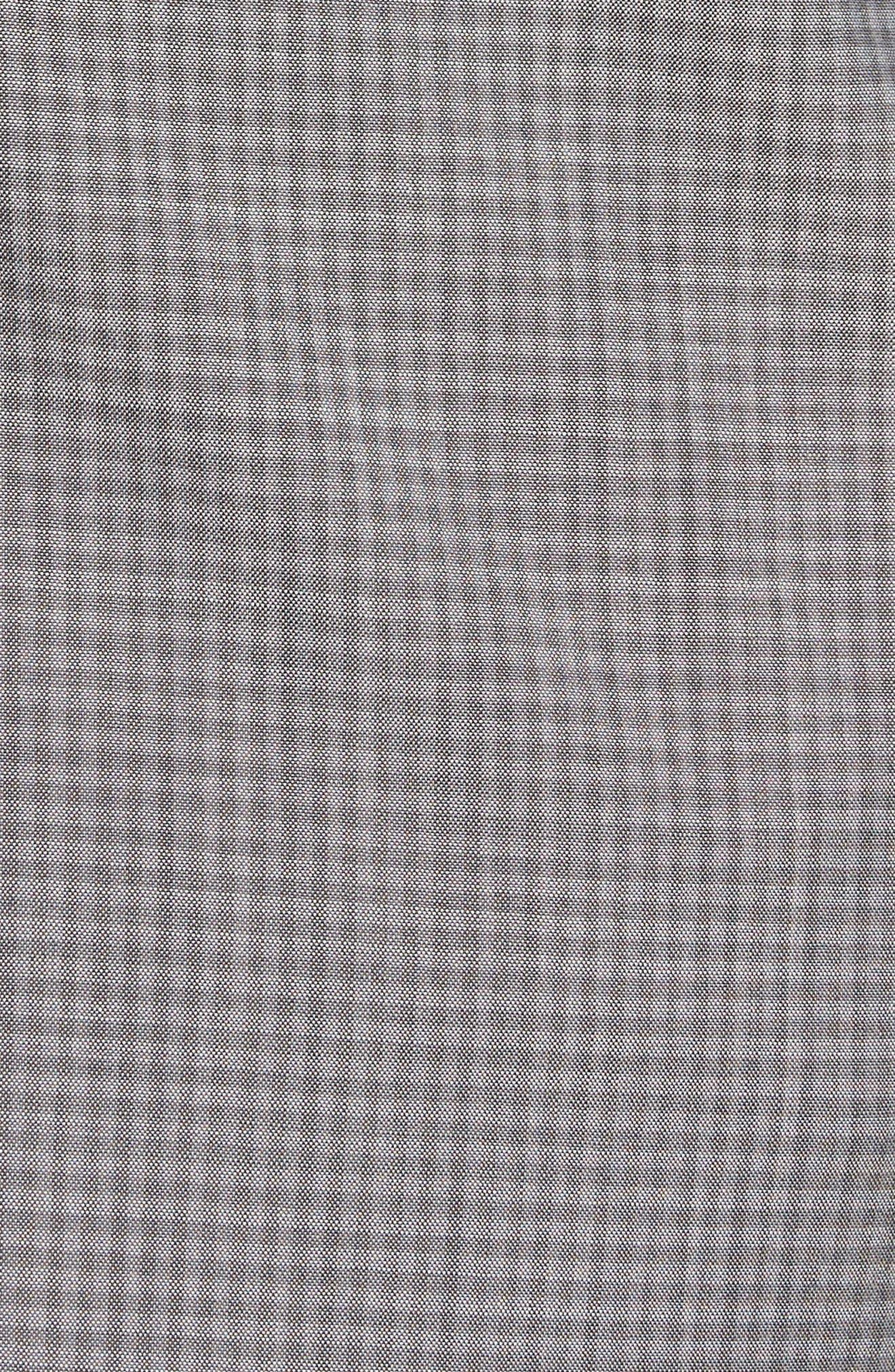 Gansevoort Trim Fit Check Wool Sport Coat,                             Alternate thumbnail 5, color,                             Dove Multi