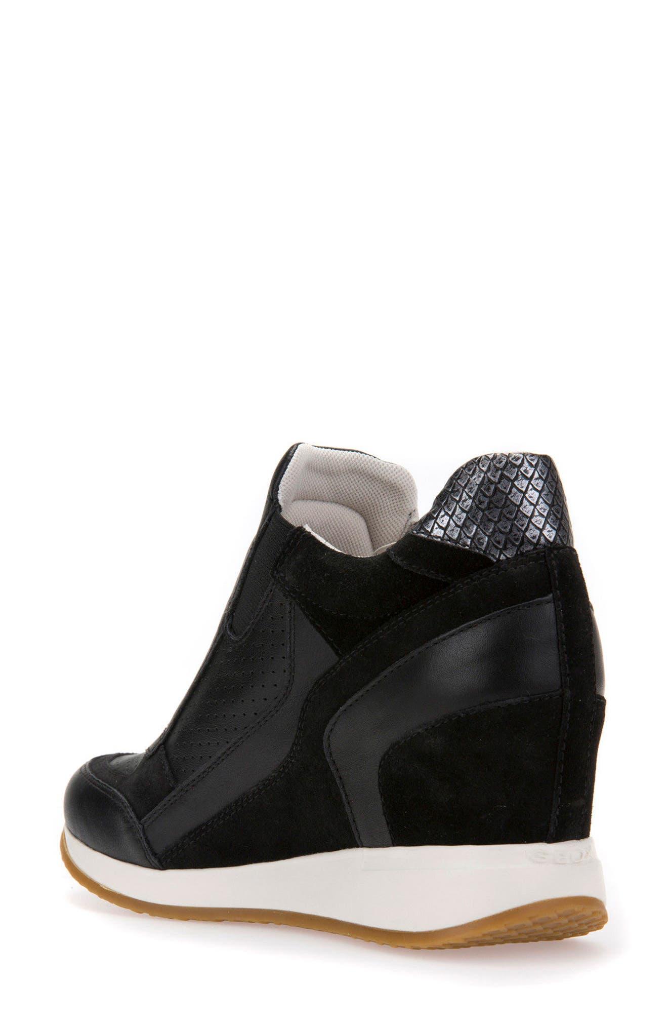 Alternate Image 2  - Geox Nydame Wedge Sneaker (Women)