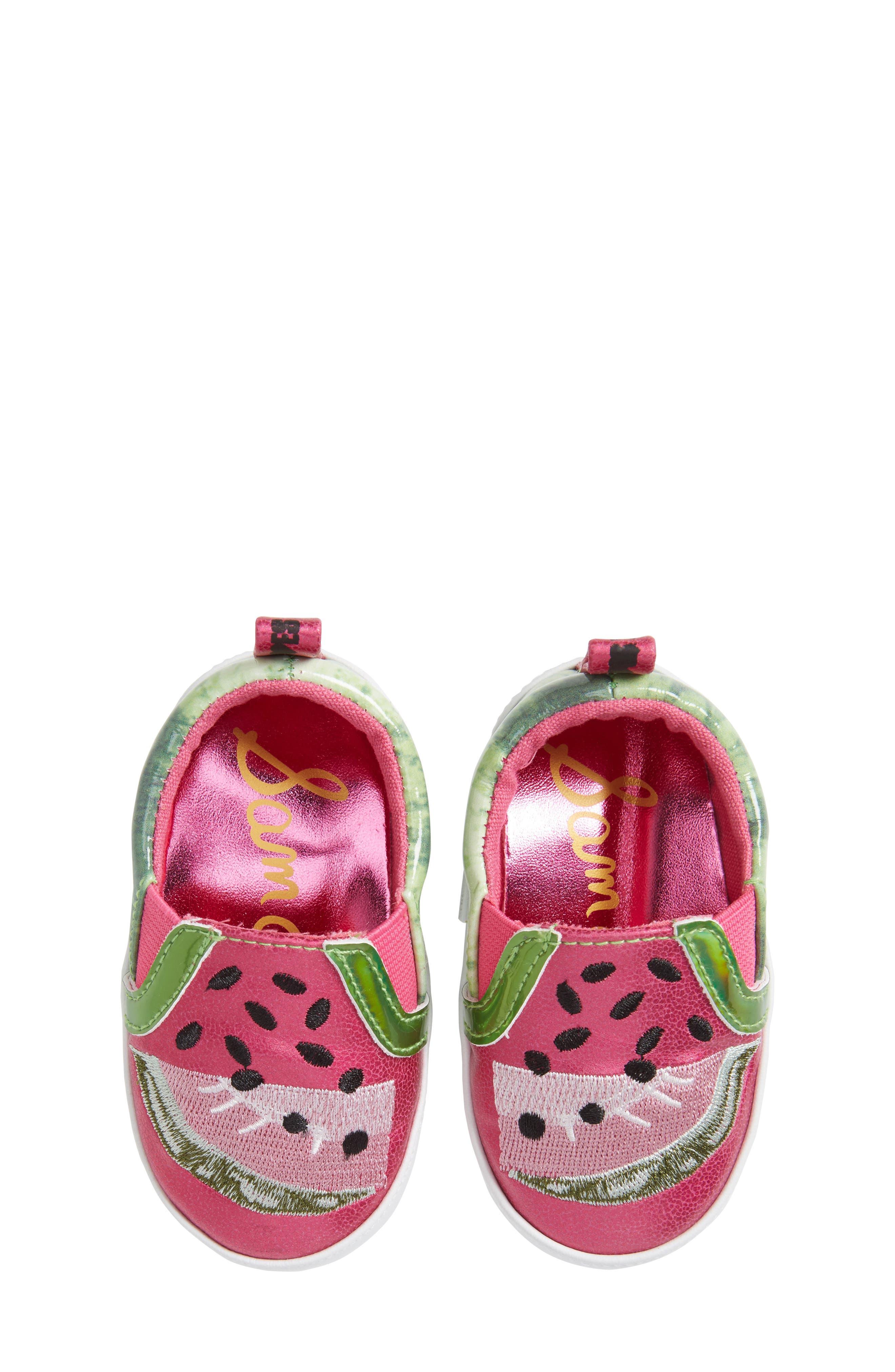 Sam Edelman Baby Blane Watermelon Sneaker (Baby)