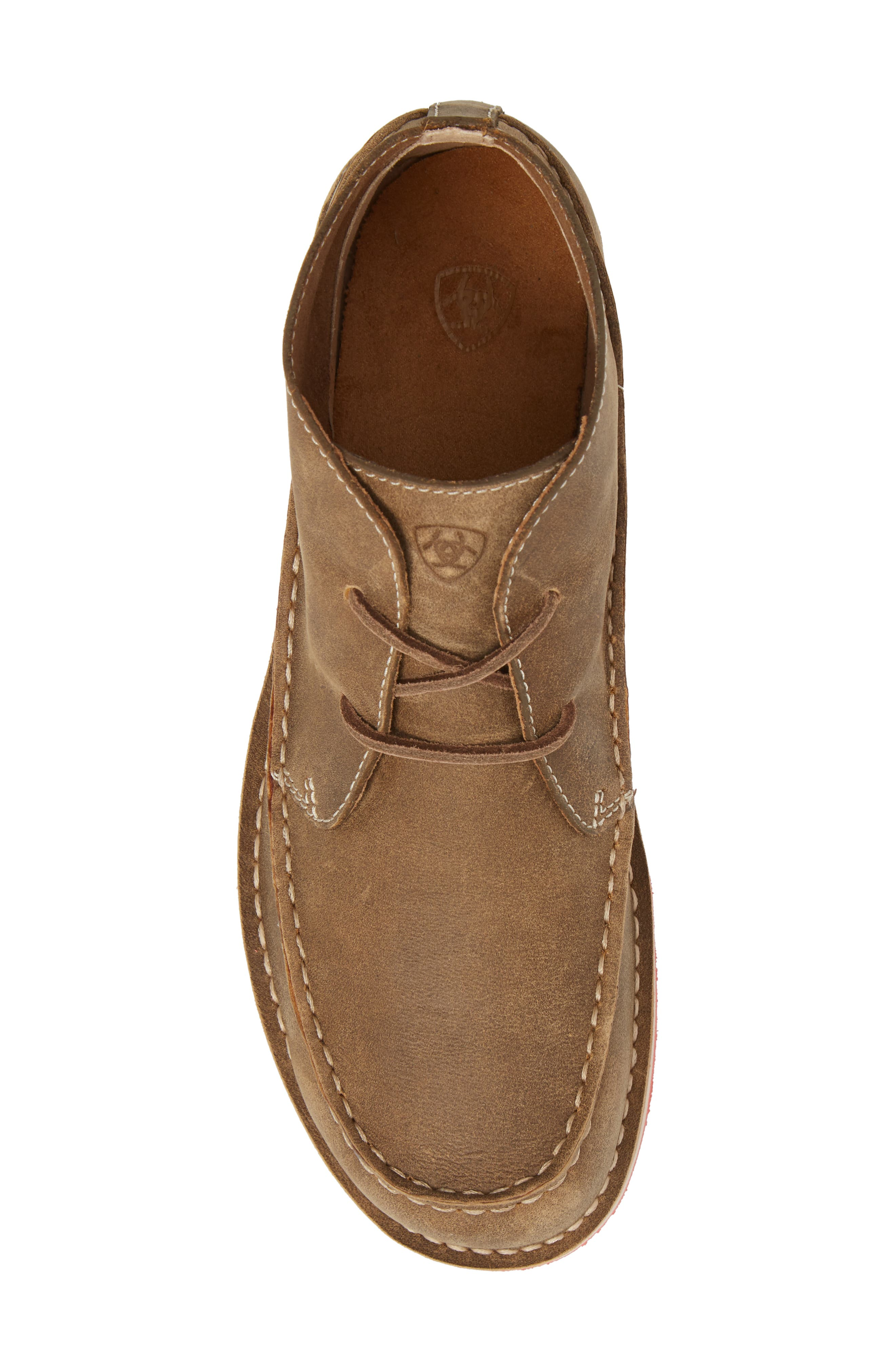 Cruiser Chukka Boot,                             Alternate thumbnail 5, color,                             Lace Brown Bomber Leather
