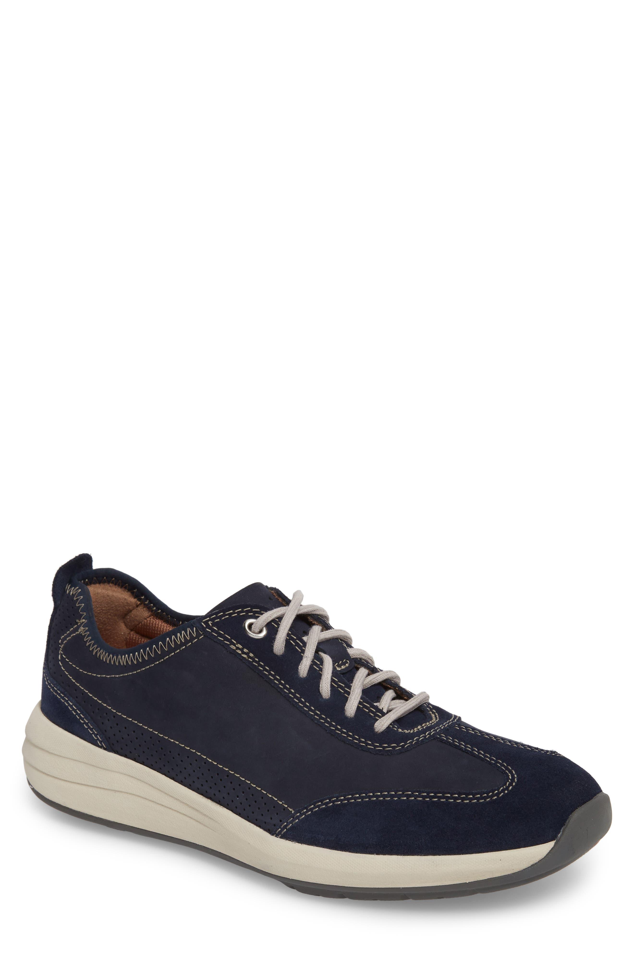 Clarks® Un Coast Low Top Sneaker (Men)