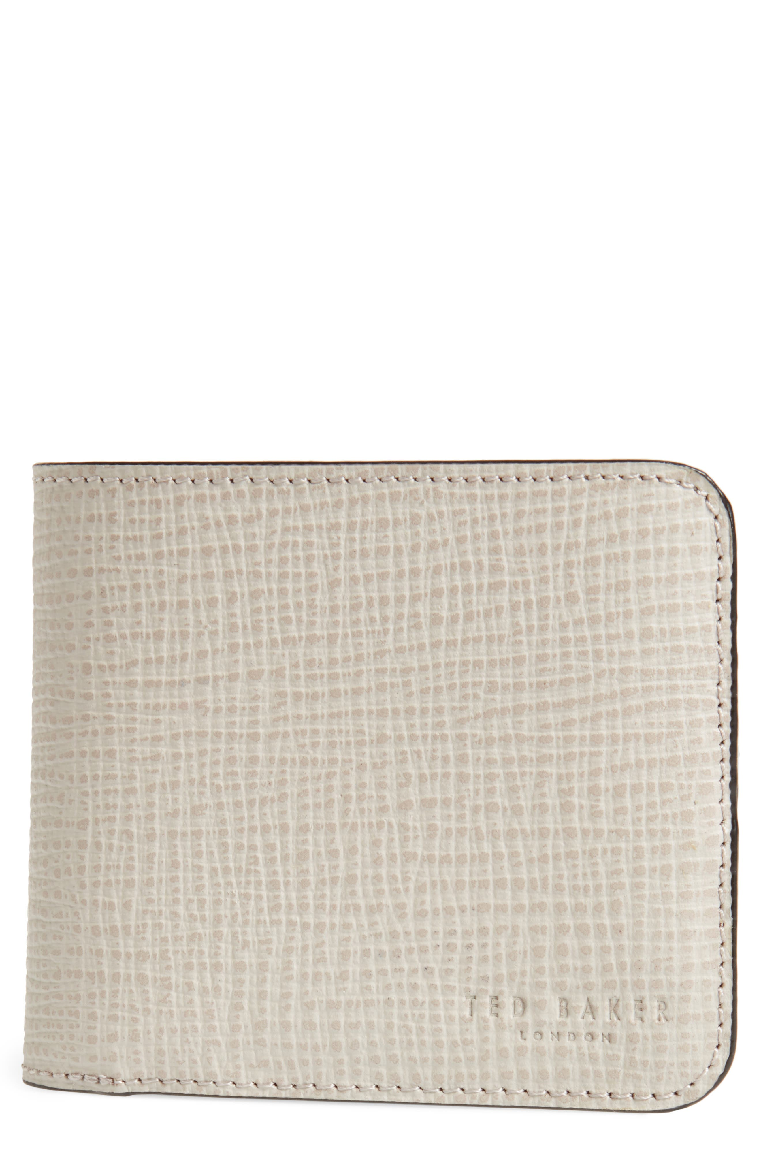 Astridd Palmelato Leather Wallet,                         Main,                         color, Natural