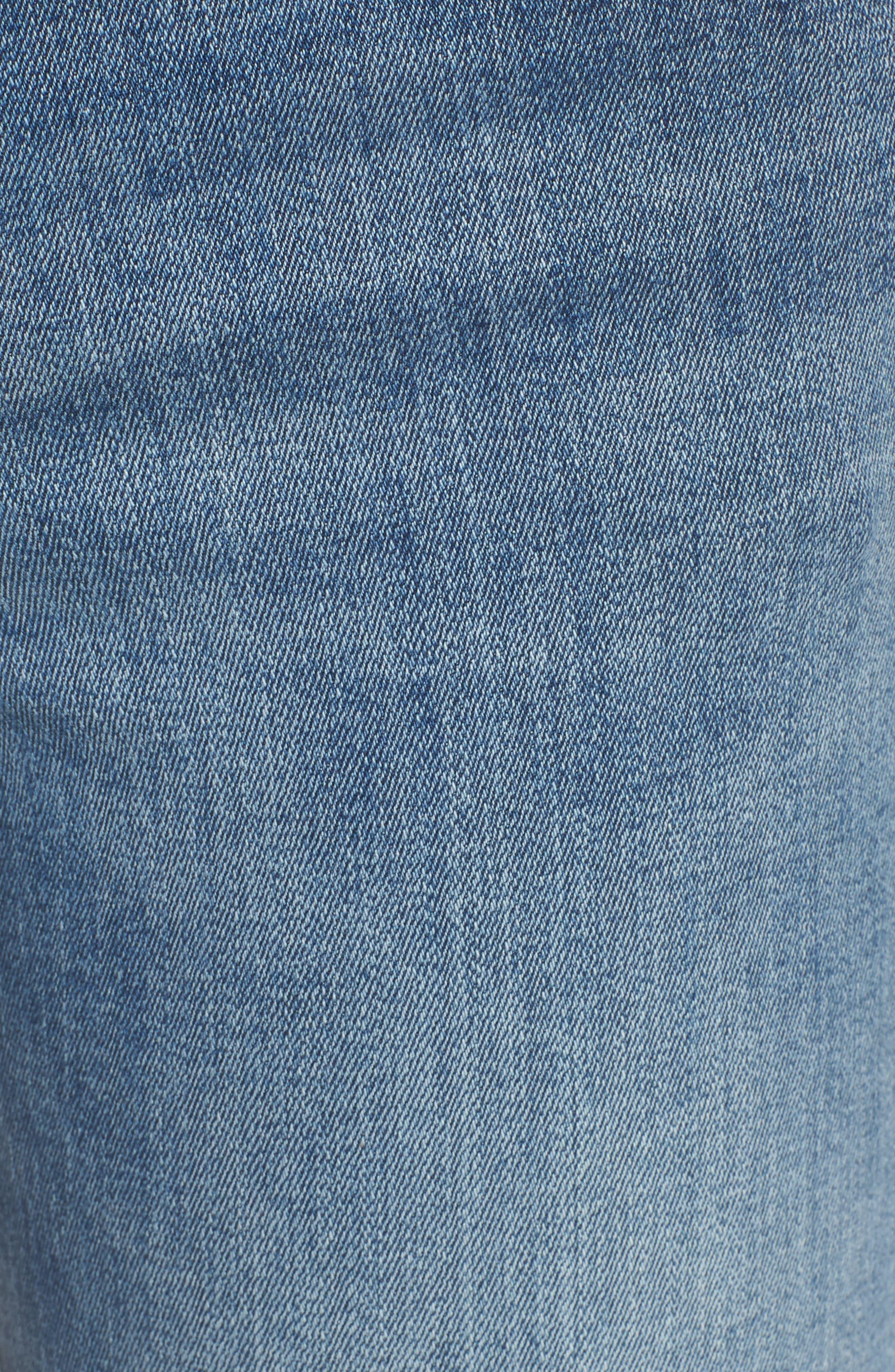 Florence Instasculpt Skinny Jeans,                             Alternate thumbnail 6, color,                             Delano
