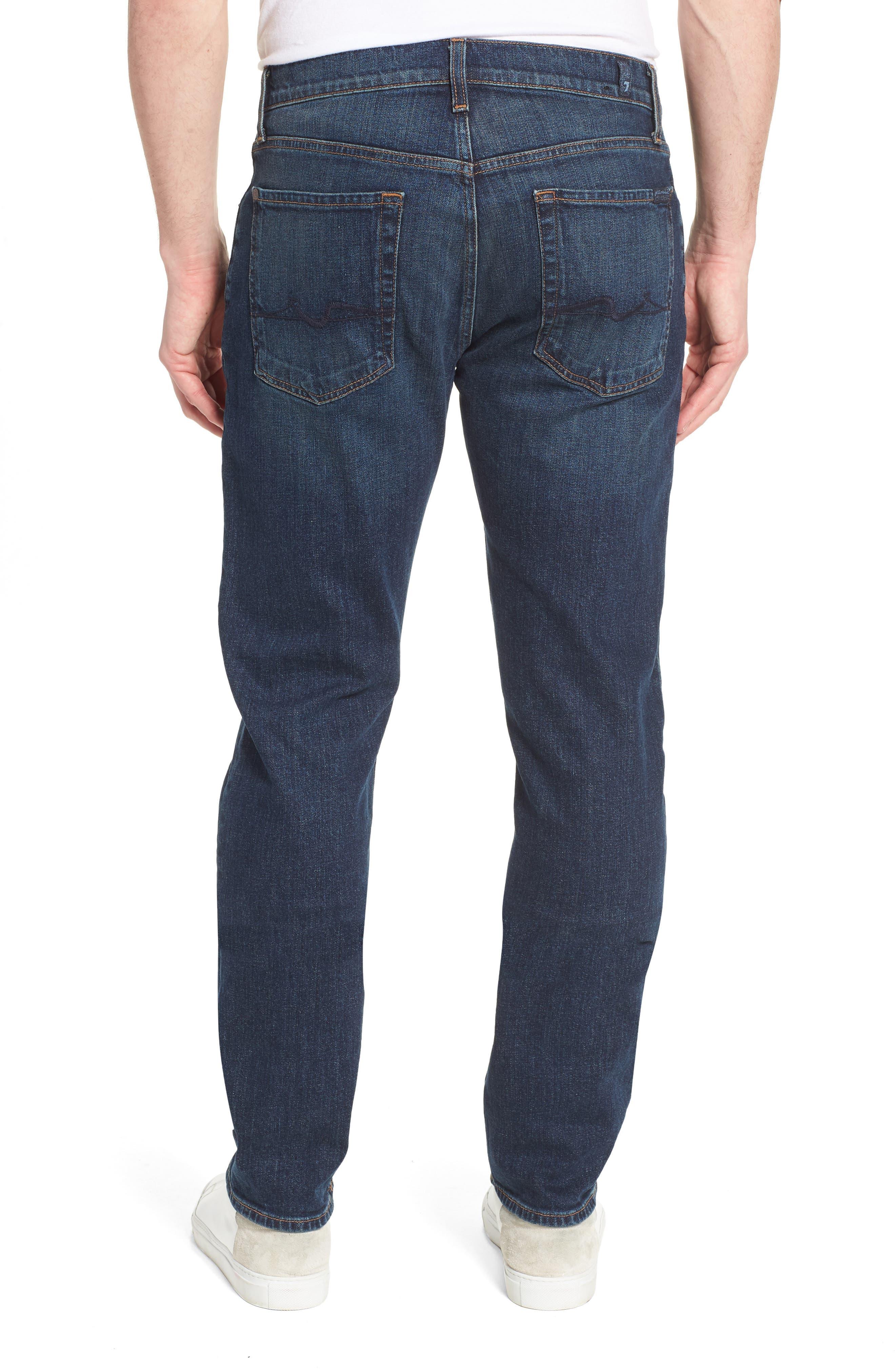 The Straight Slim Straight Leg Jeans,                             Alternate thumbnail 2, color,                             Mark Lane