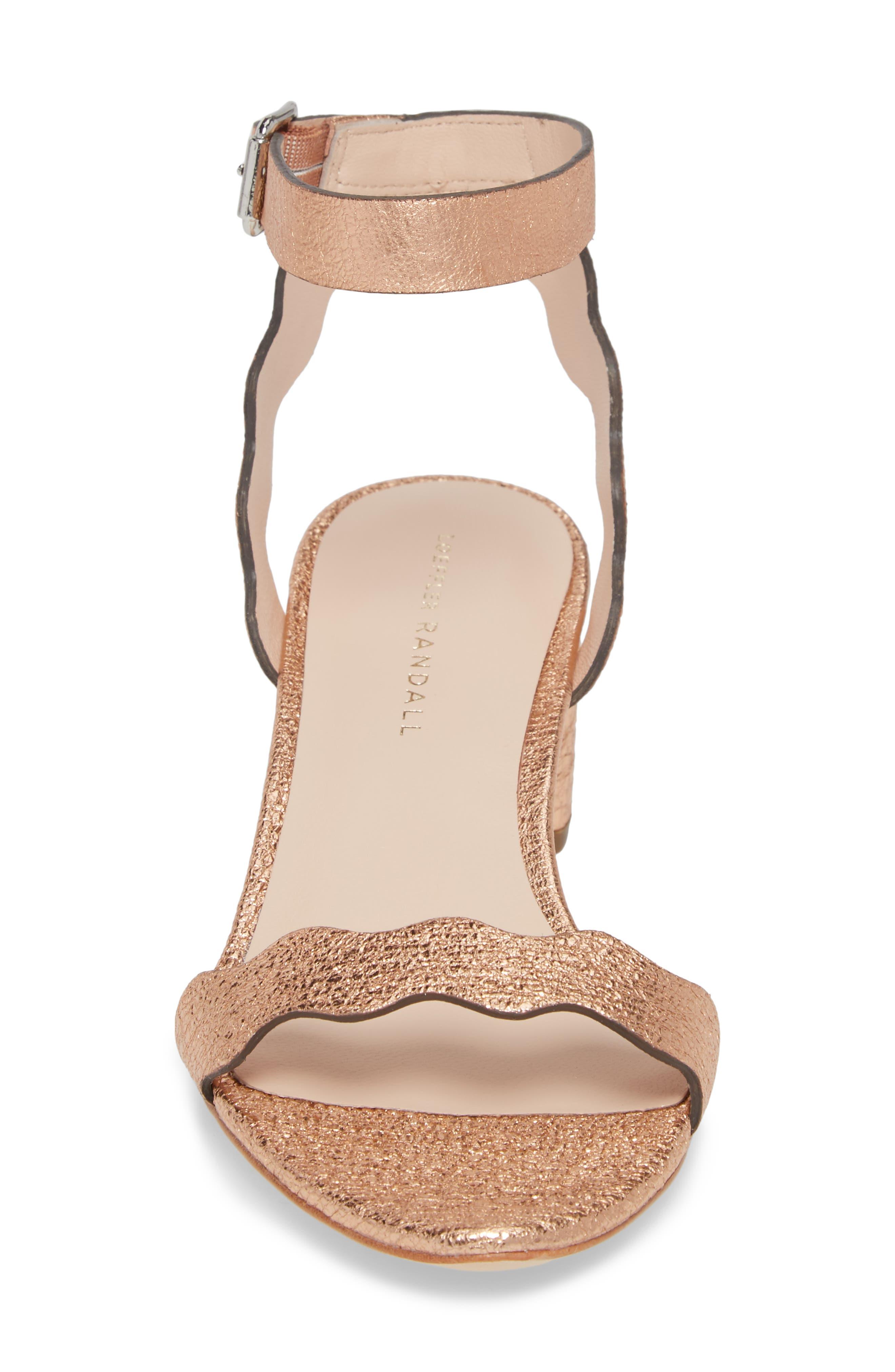 Alternate Image 4  - Loeffler Randall Emi Scalloped Sandal (Women)