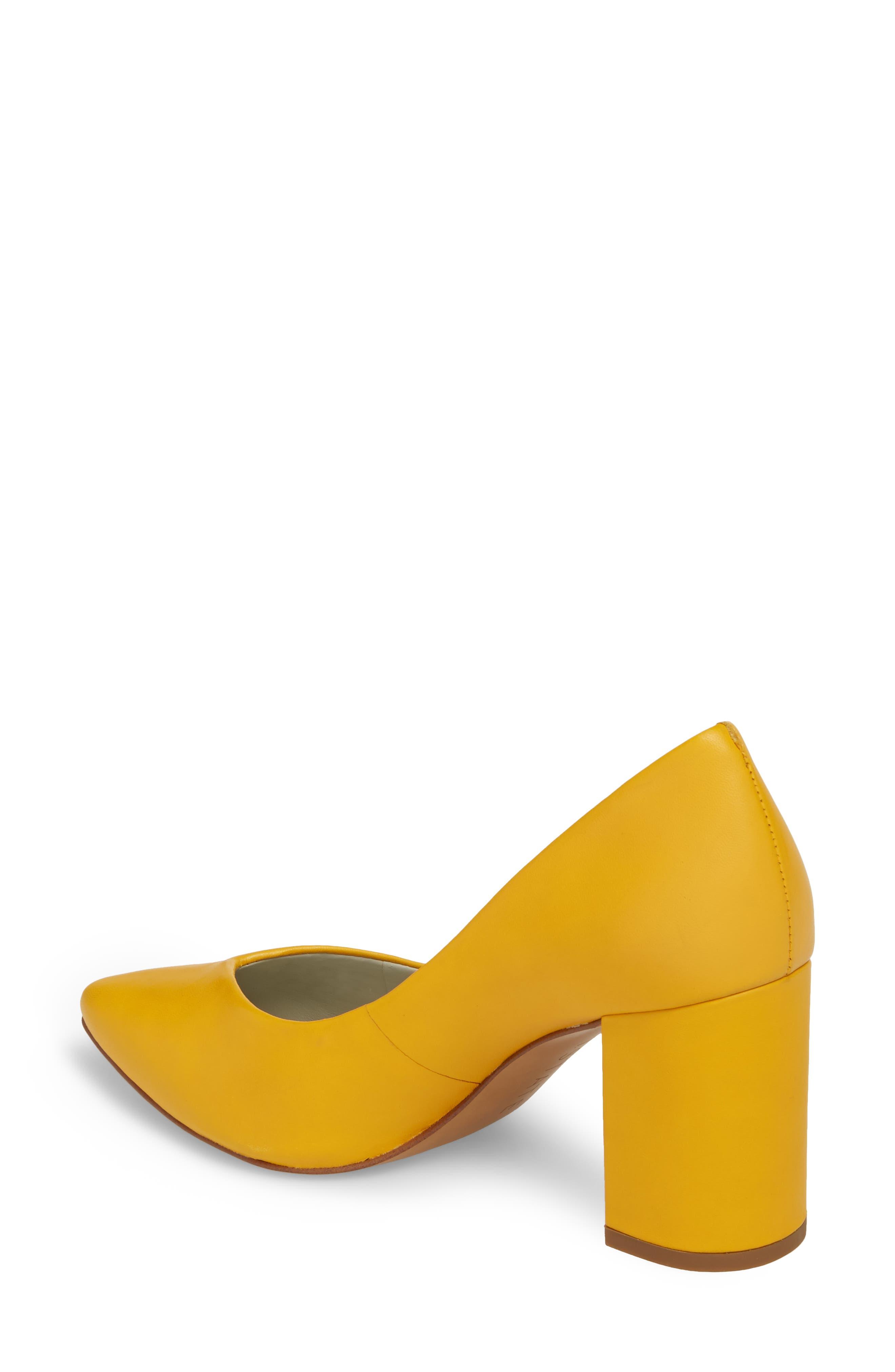 Saffy Block Heel Pump,                             Alternate thumbnail 2, color,                             Spectra Leather