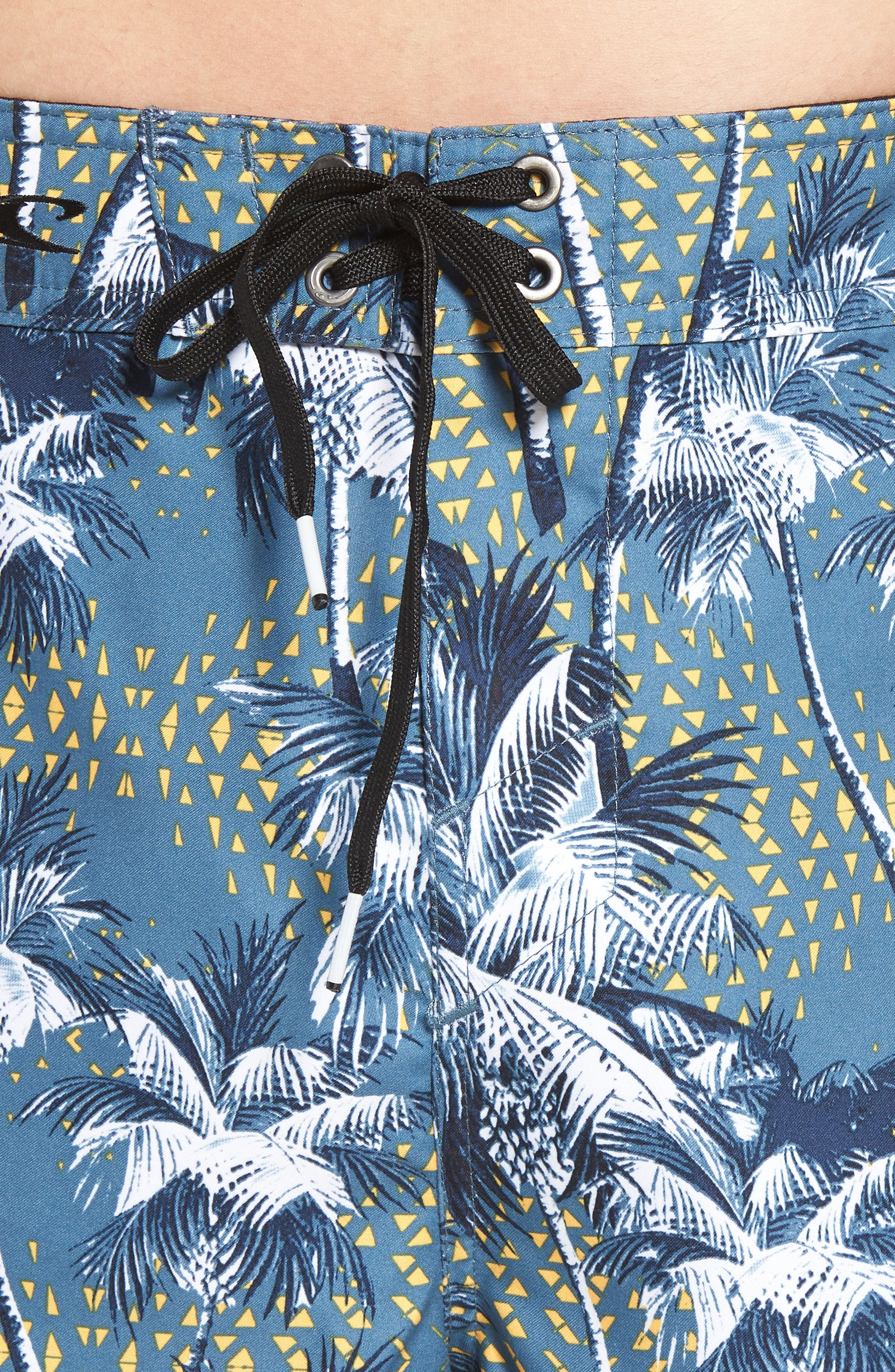 Darn Old Palmer Board Shorts,                             Alternate thumbnail 4, color,                             Dust Blue