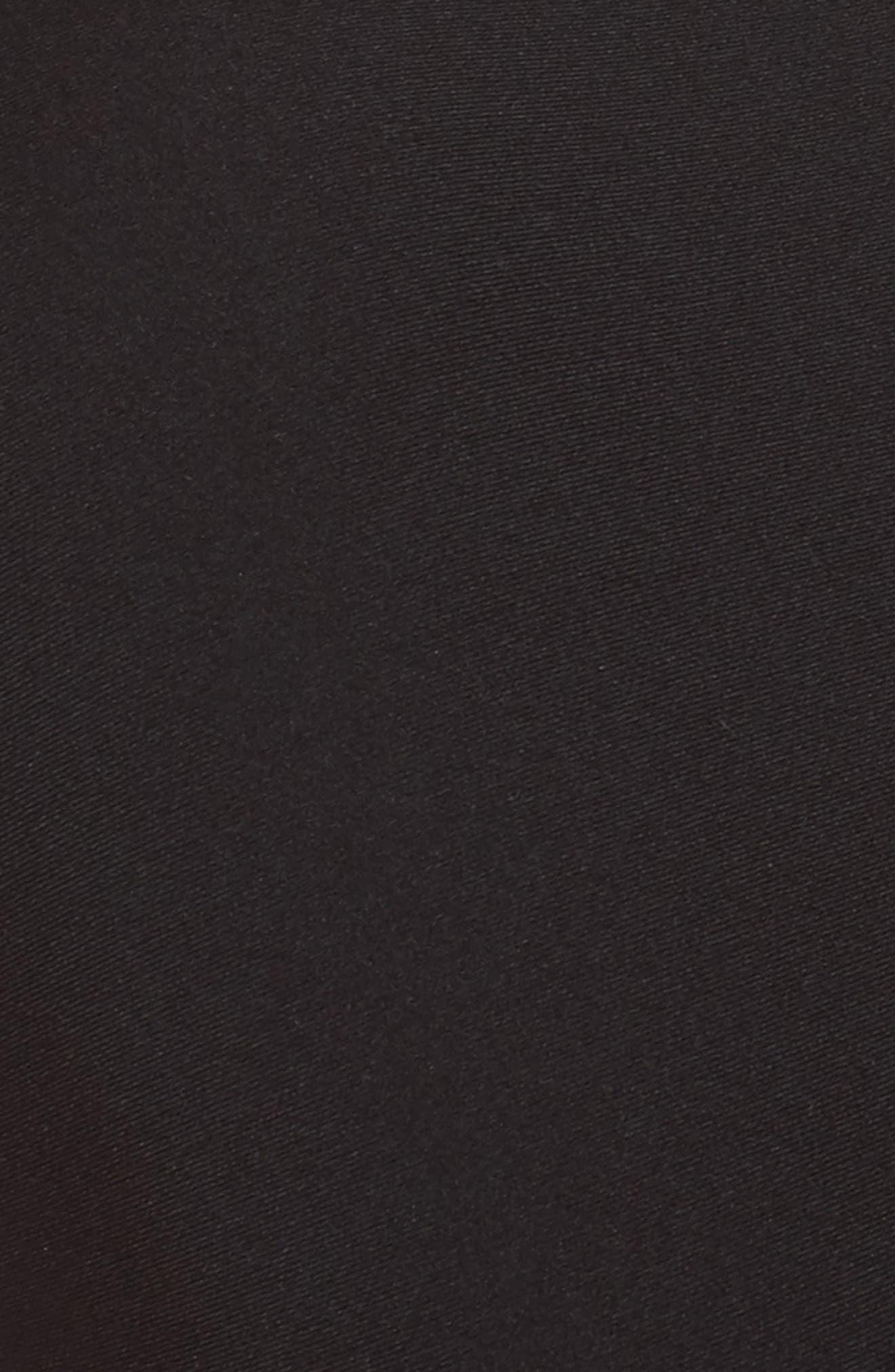 Abbot Sports Bra,                             Alternate thumbnail 5, color,                             Black