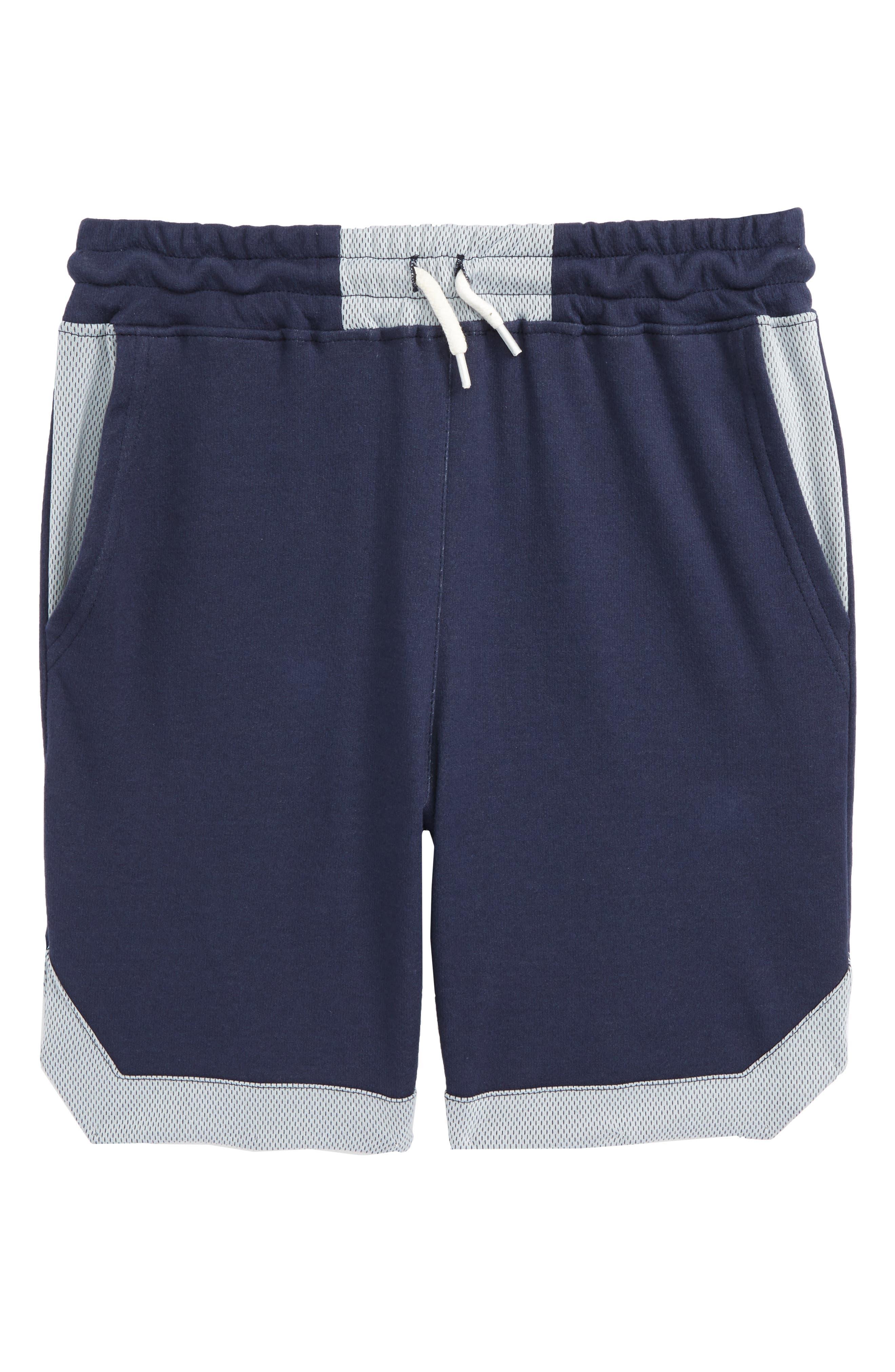 Paneled Shorts,                         Main,                         color, Academy Blue