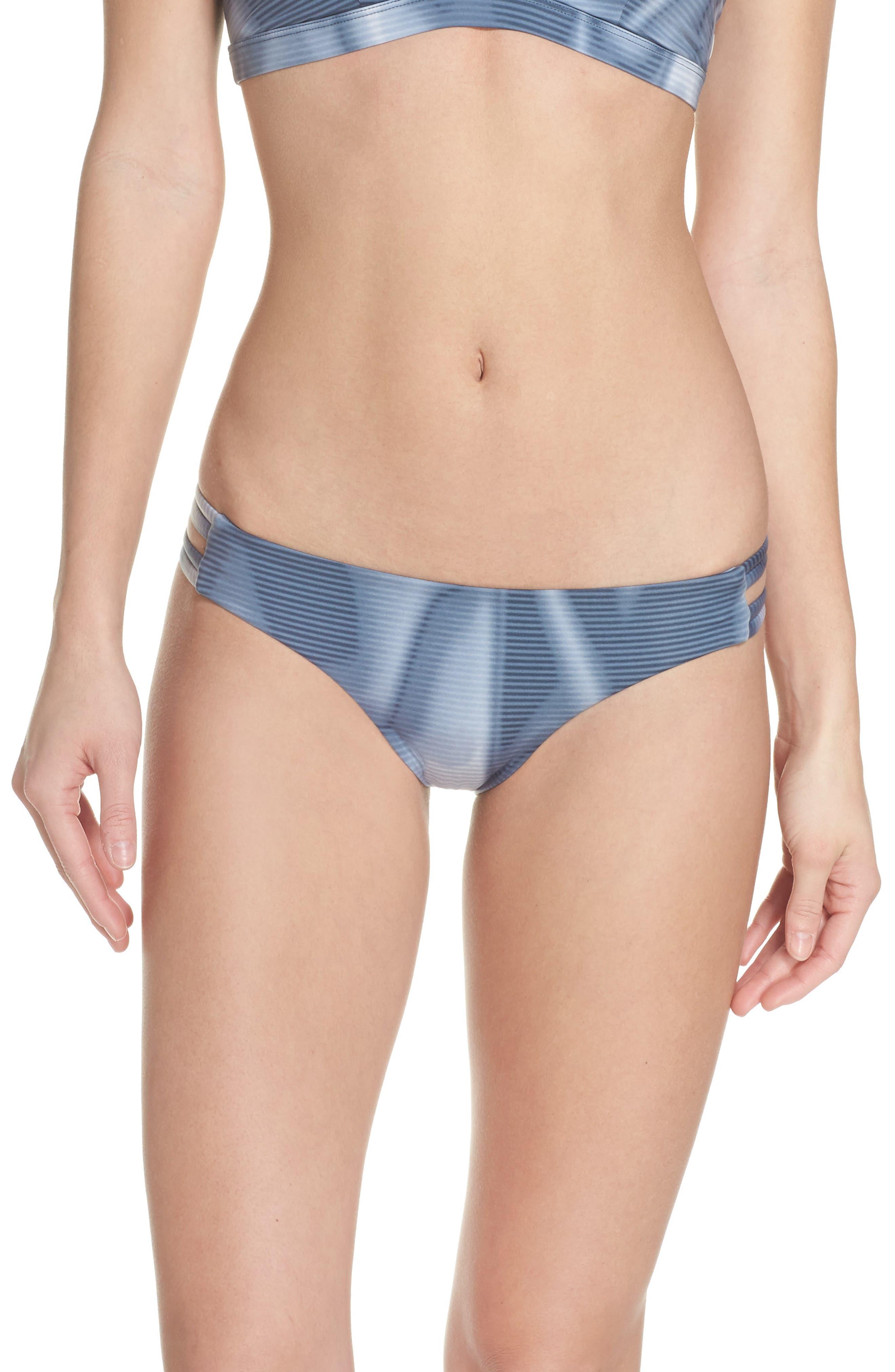 Main Image - Hurley Quick Dry Max Waves Bikini Bottoms