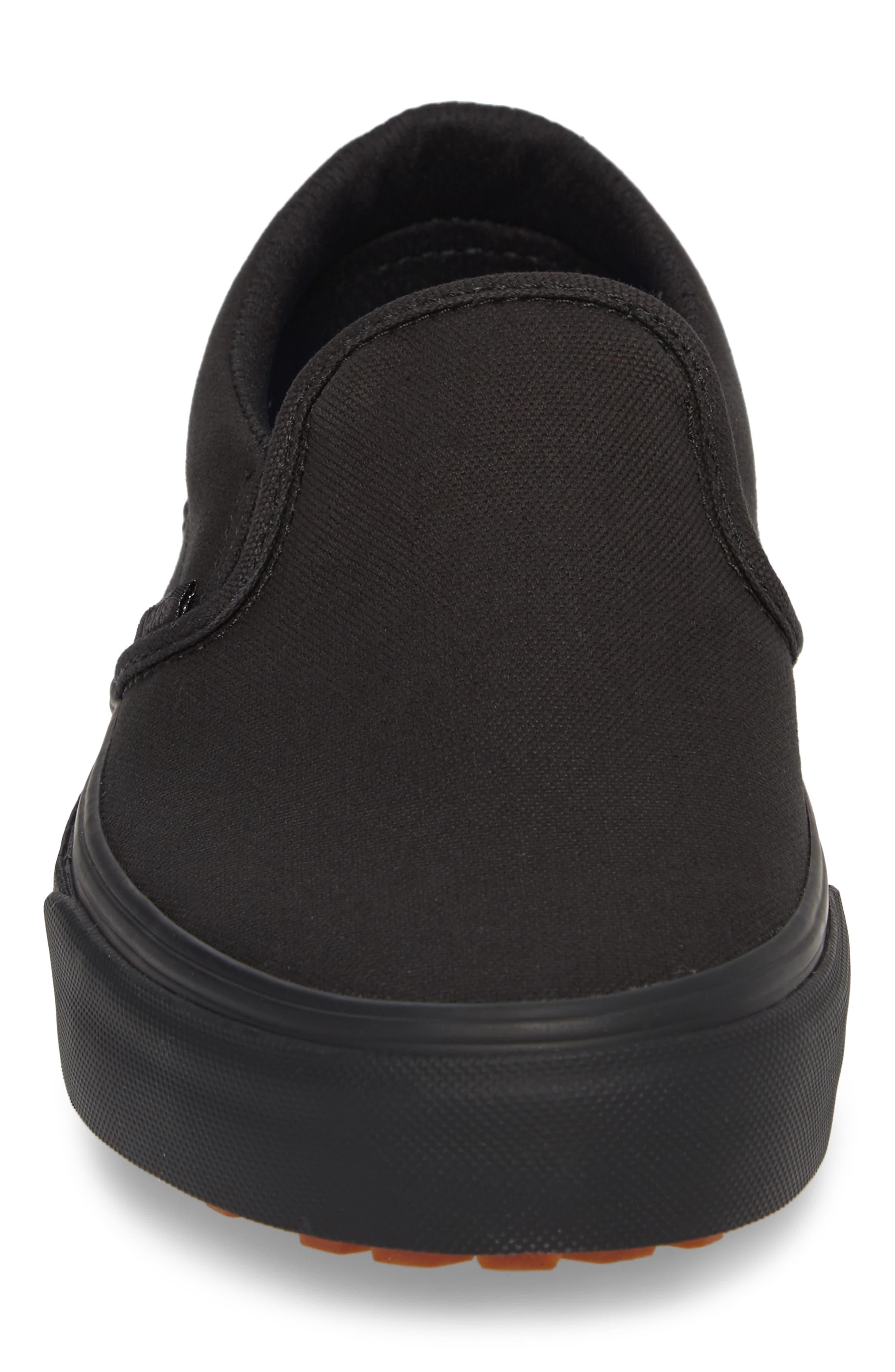 Made for the Makers UC Slip-On Sneaker,                             Alternate thumbnail 4, color,                             Black/ Black