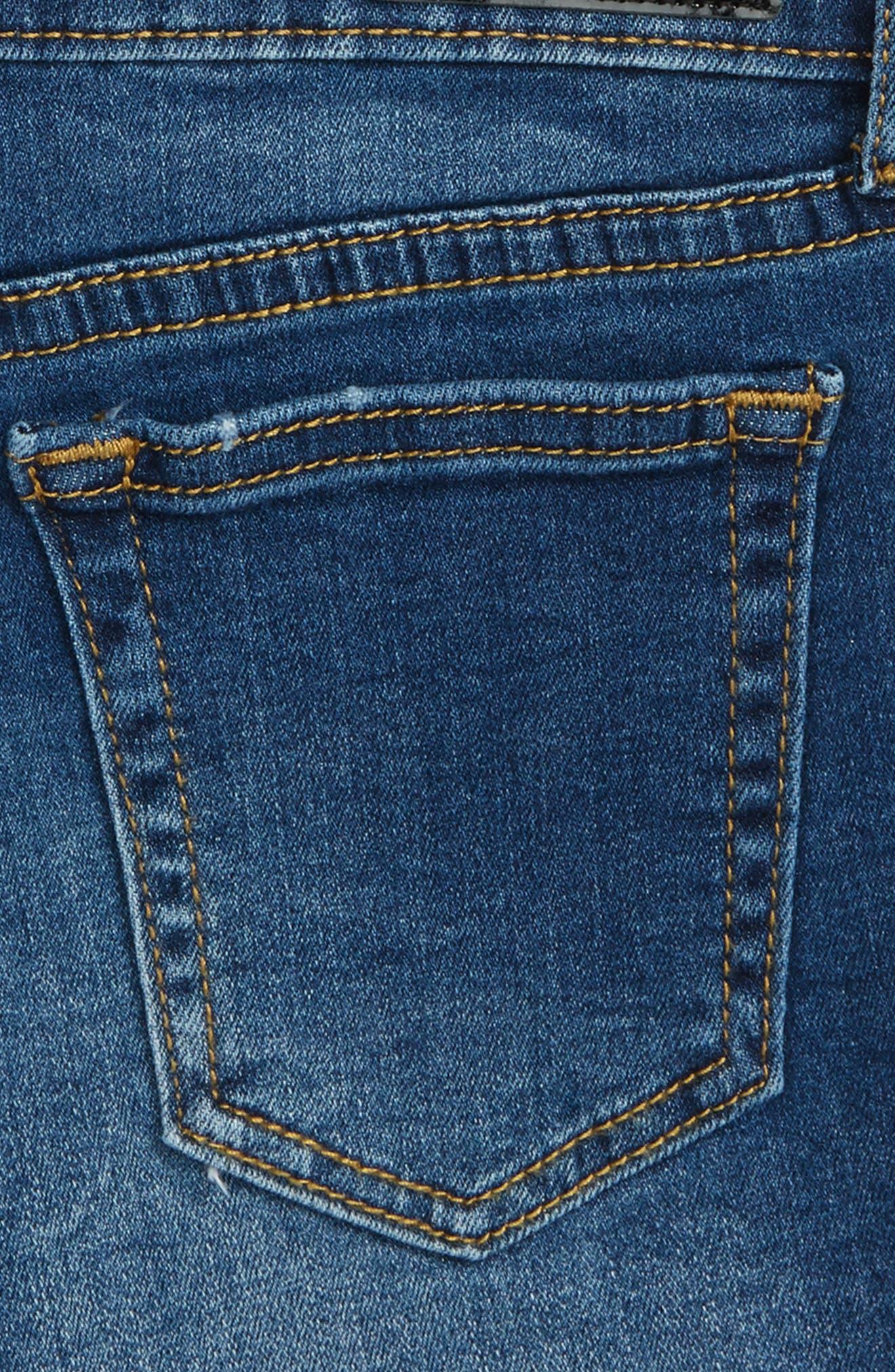 Alternate Image 3  - ag adriano goldschmied kids The Bruna Cutoff Denim Shorts (Big Girls)